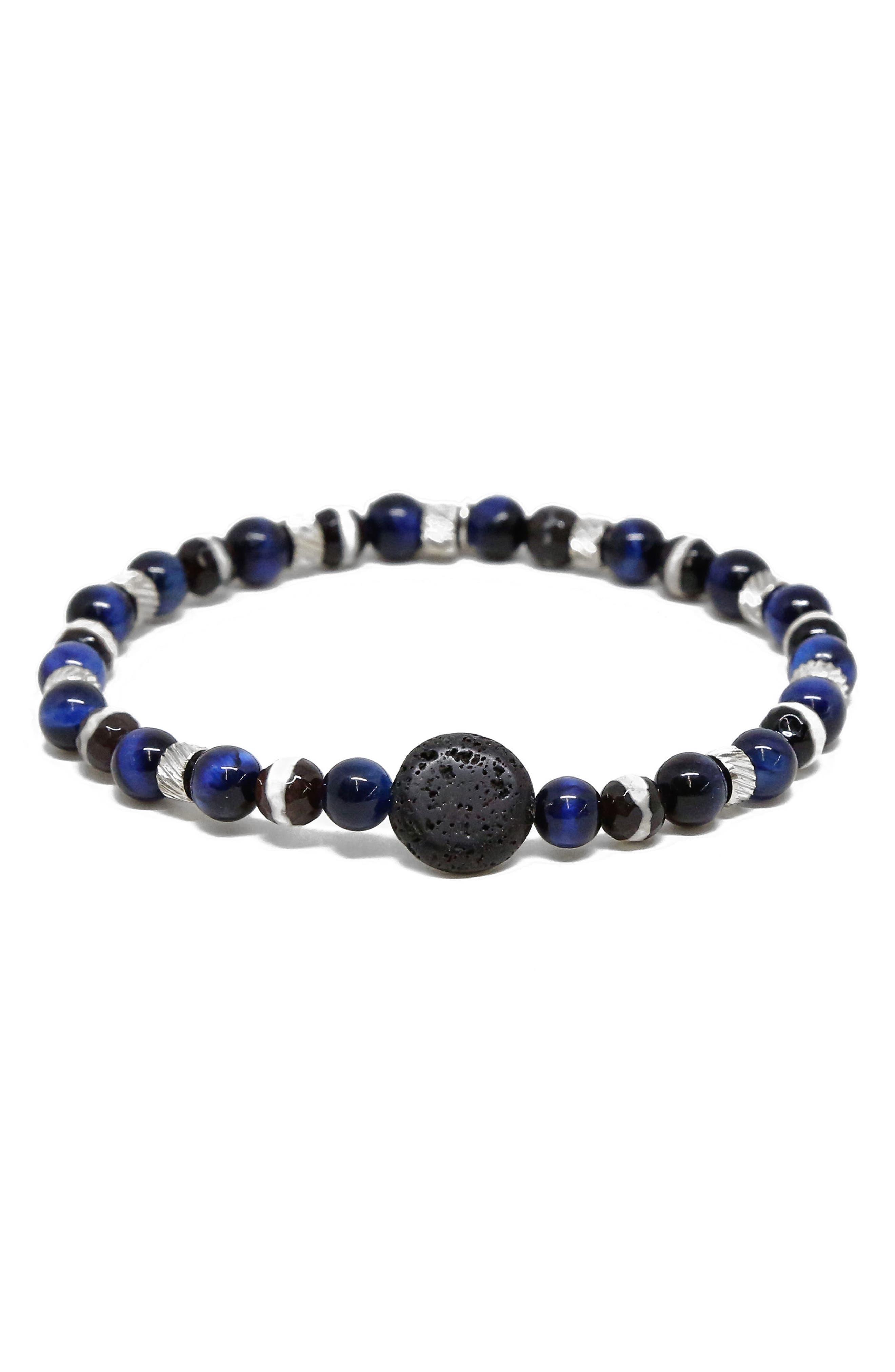 MR. ETTIKA Glass Bead Bracelet, Main, color, 400