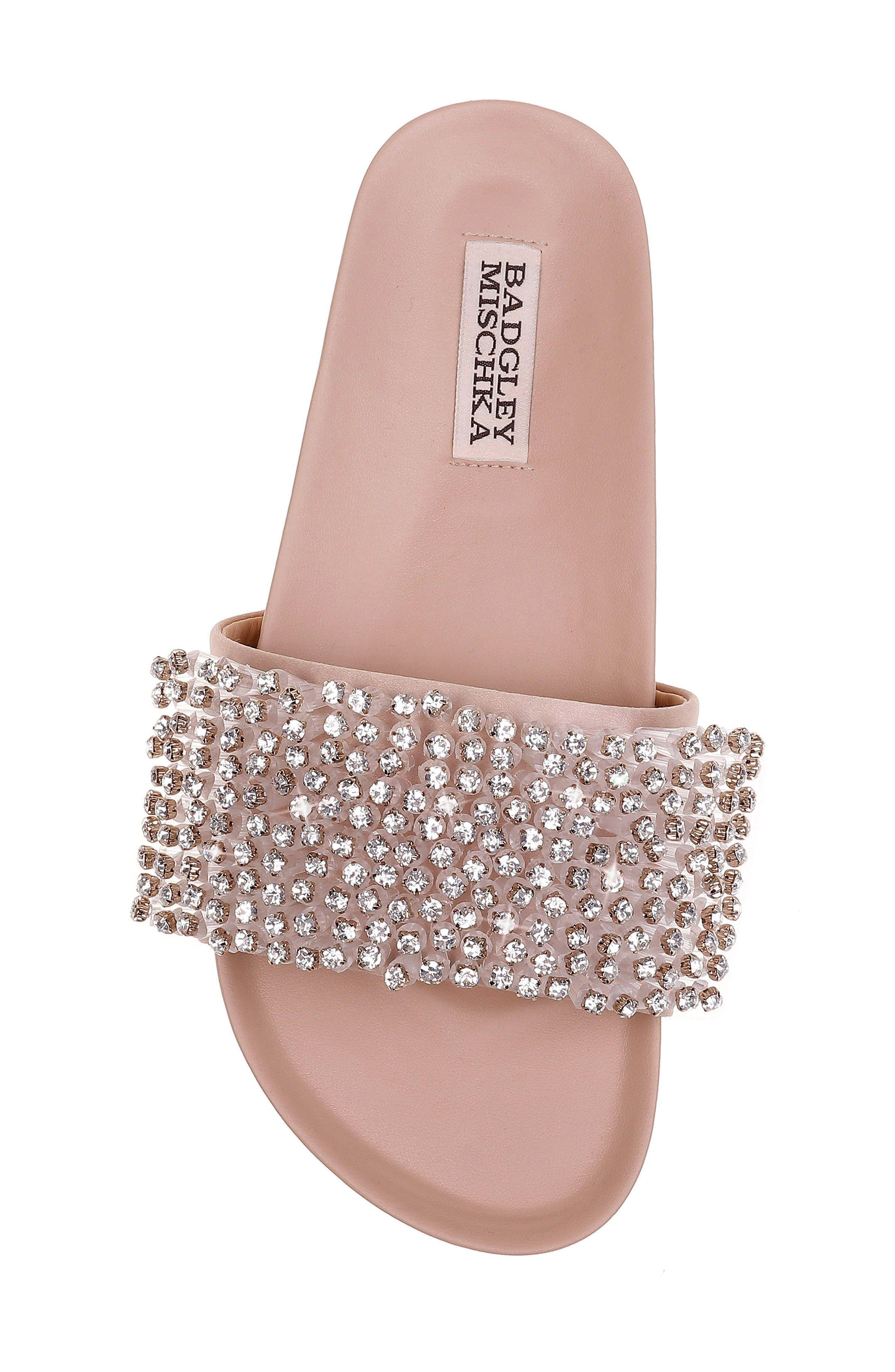 Horton Crystal Embellished Sandal,                             Alternate thumbnail 18, color,