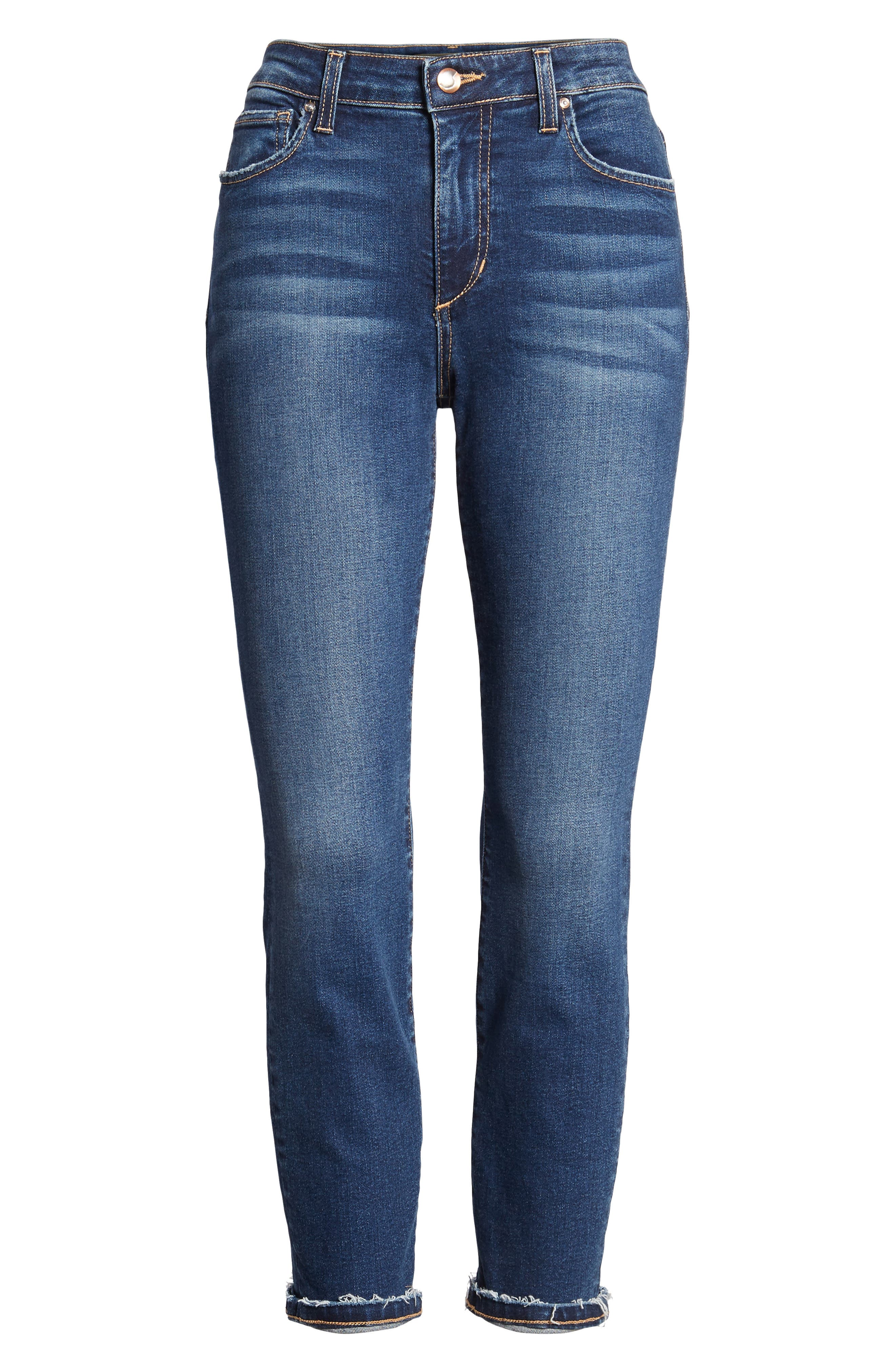 Flawless - Icon Crop Skinny Jeans,                             Alternate thumbnail 7, color,                             MADISEN