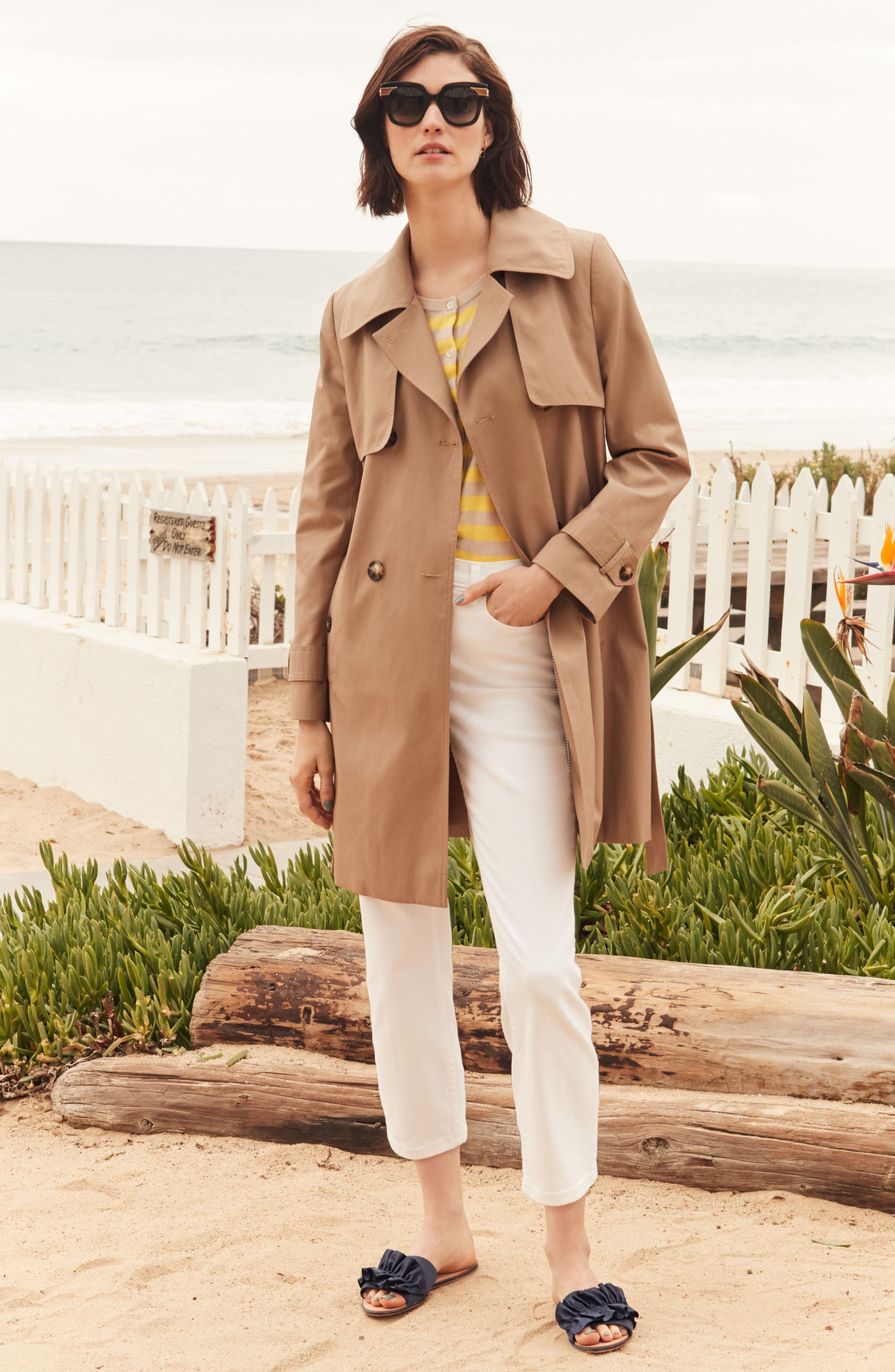 Midi Trench Coat,                             Alternate thumbnail 7, color,                             299