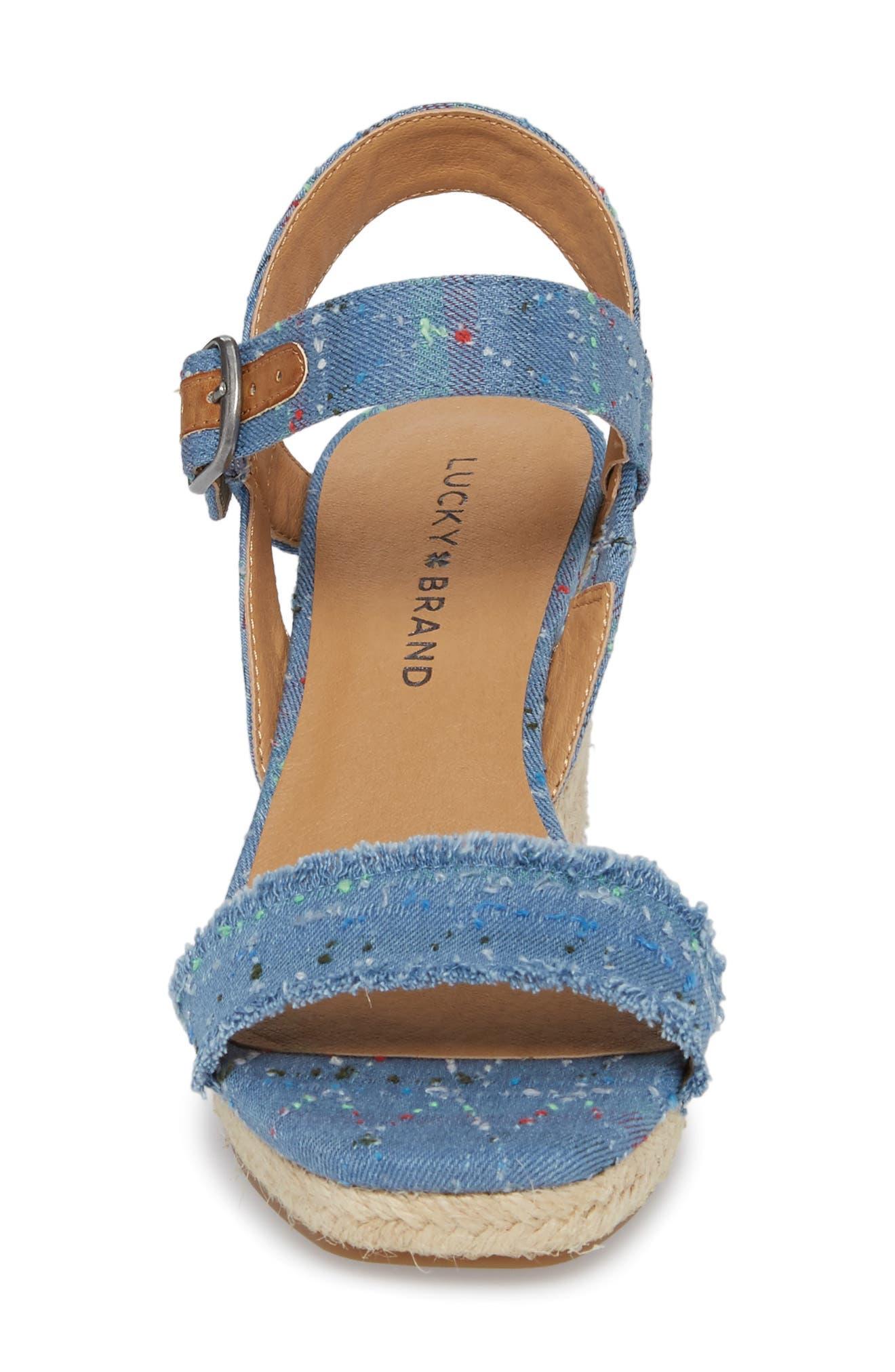 Marceline Squared Toe Wedge Sandal,                             Alternate thumbnail 26, color,