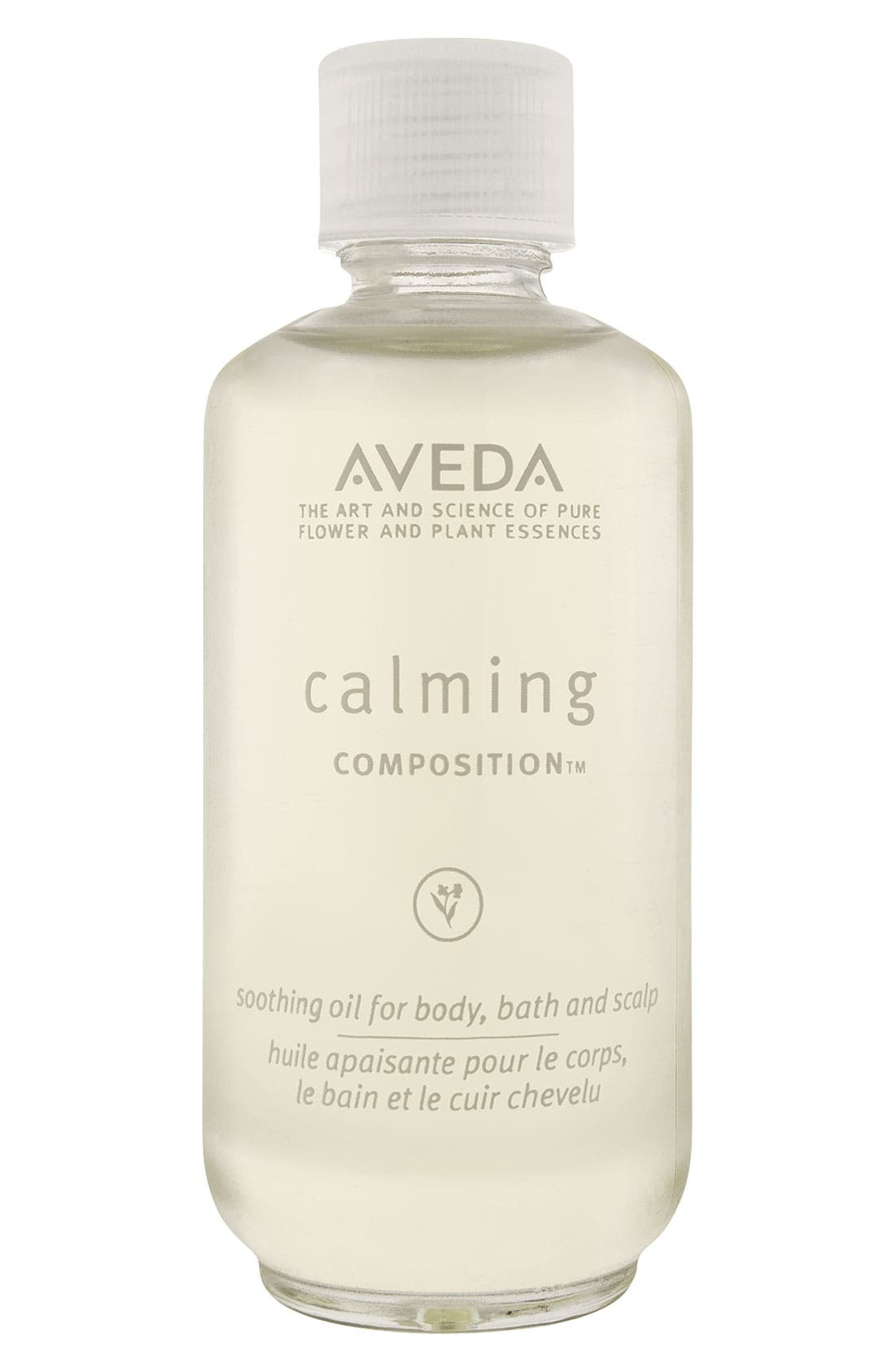 AVEDA,                             'Calming' composition<sup>™</sup> Body Oil,                             Main thumbnail 1, color,                             000