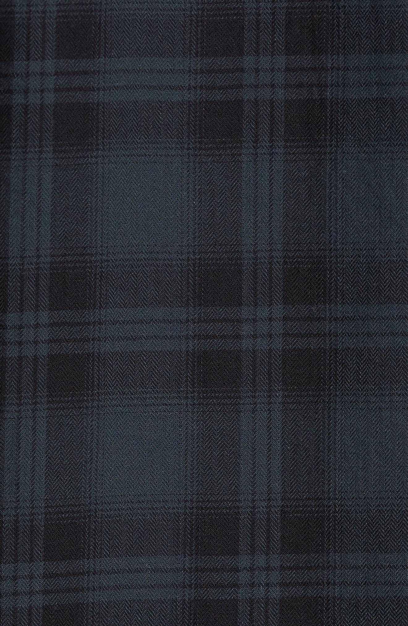 Colton Slim Fit Plaid Sport Shirt,                             Alternate thumbnail 9, color,