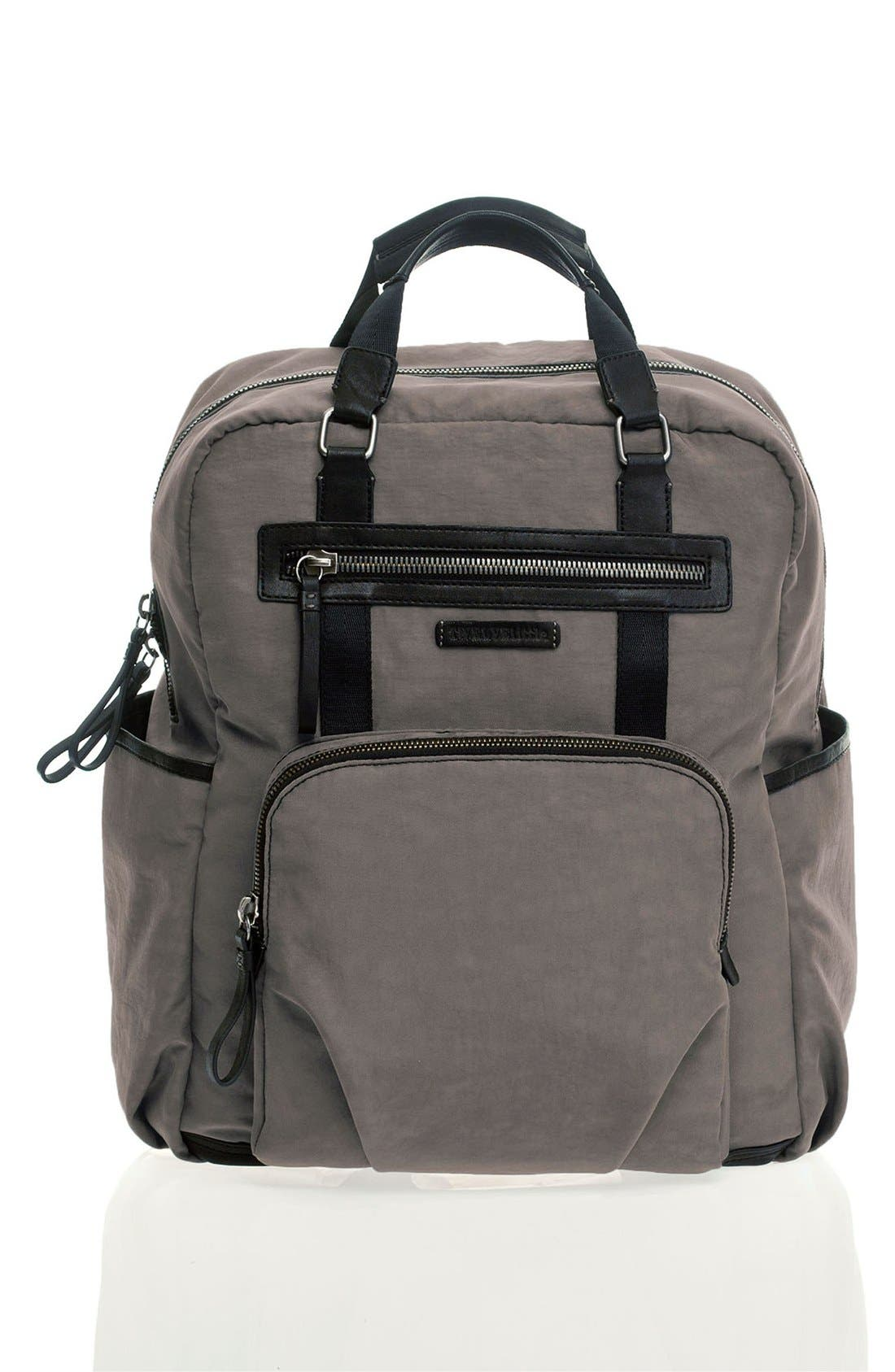 'Courage' Unisex Backpack Diaper Bag, Main, color, 020
