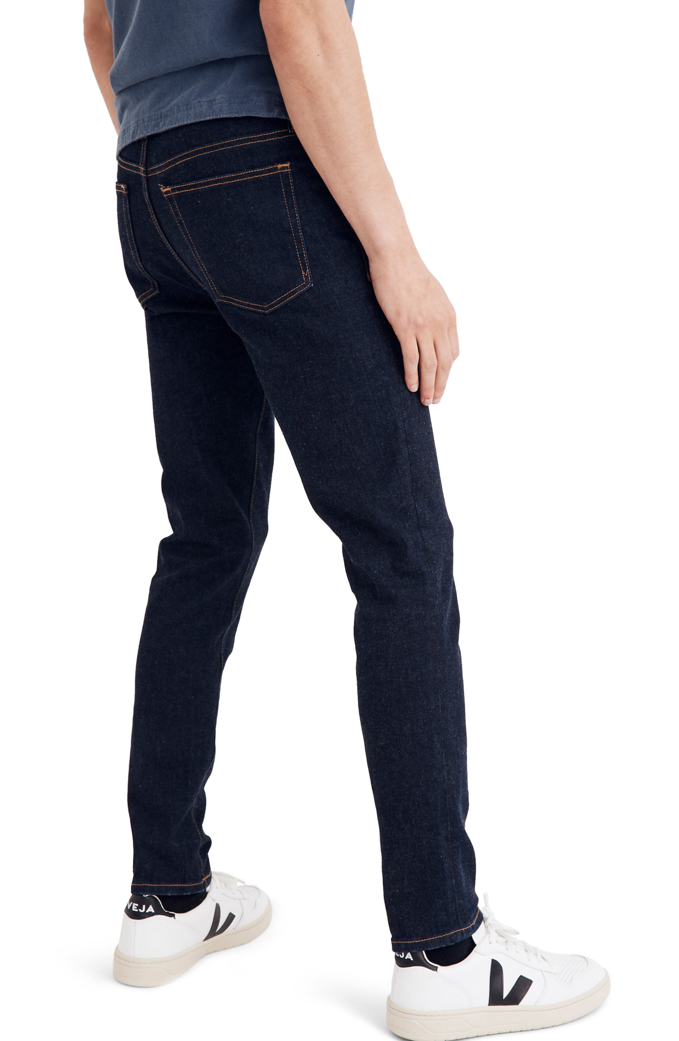 Skinny Fit Jeans,                             Alternate thumbnail 2, color,                             RINSE