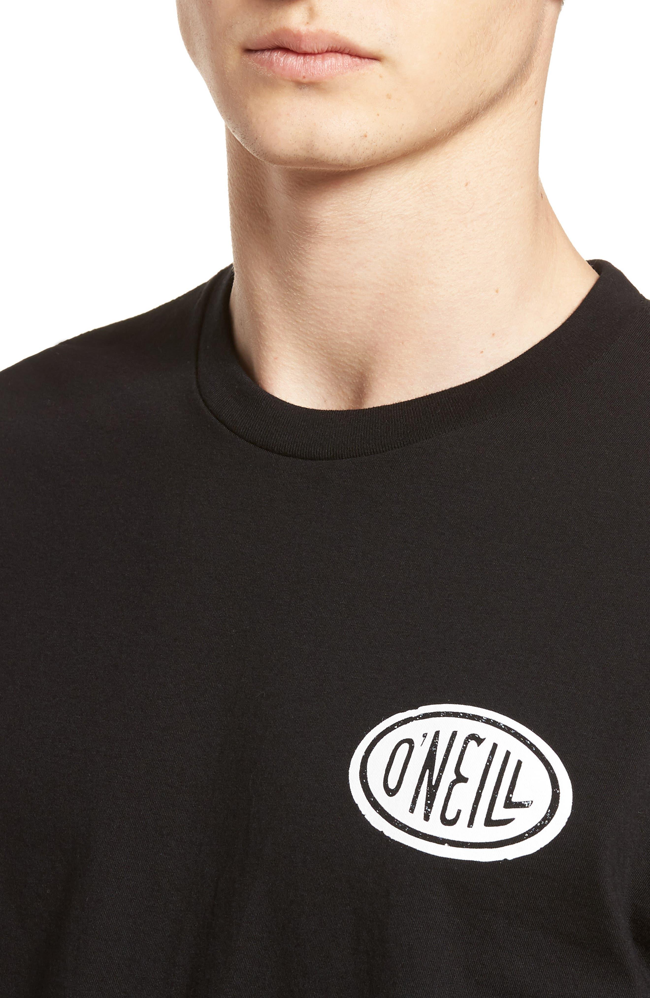 Gasser Graphic T-Shirt,                             Alternate thumbnail 4, color,                             001