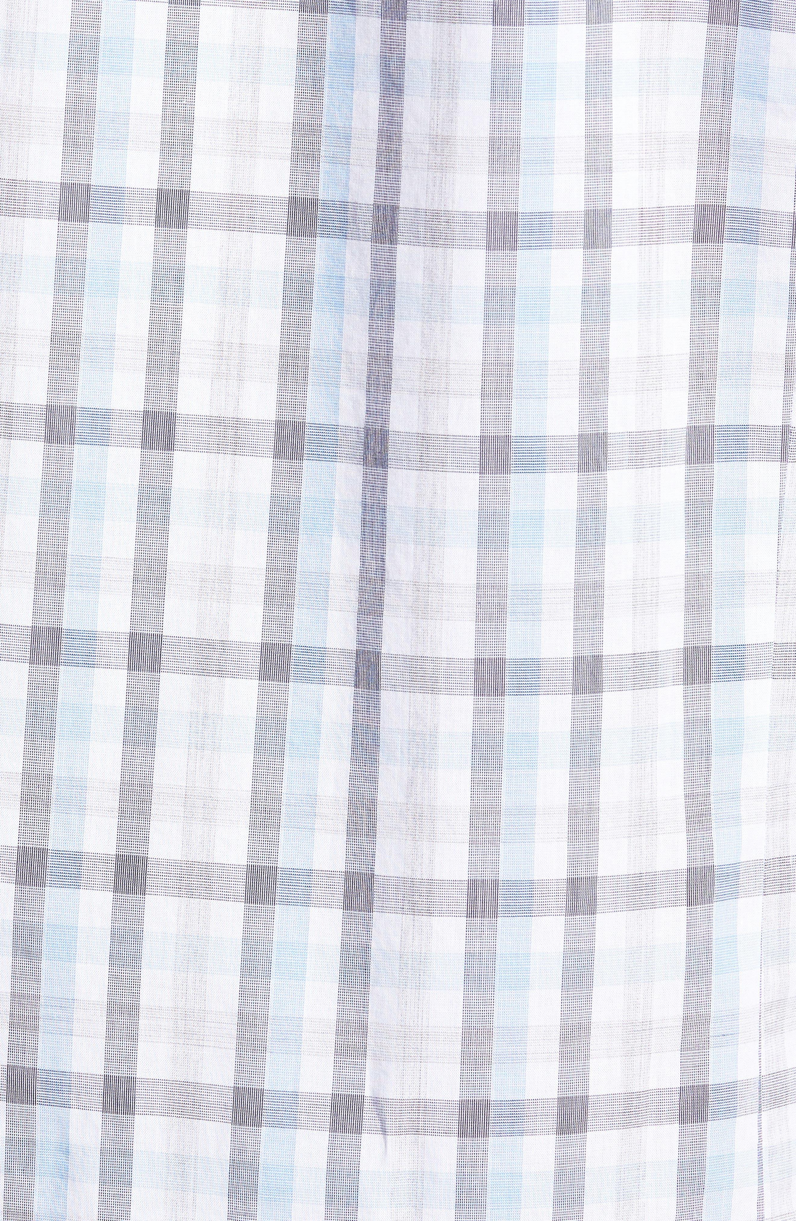 Luka Slim Fit Short Sleeve Sport Shirt,                             Alternate thumbnail 5, color,