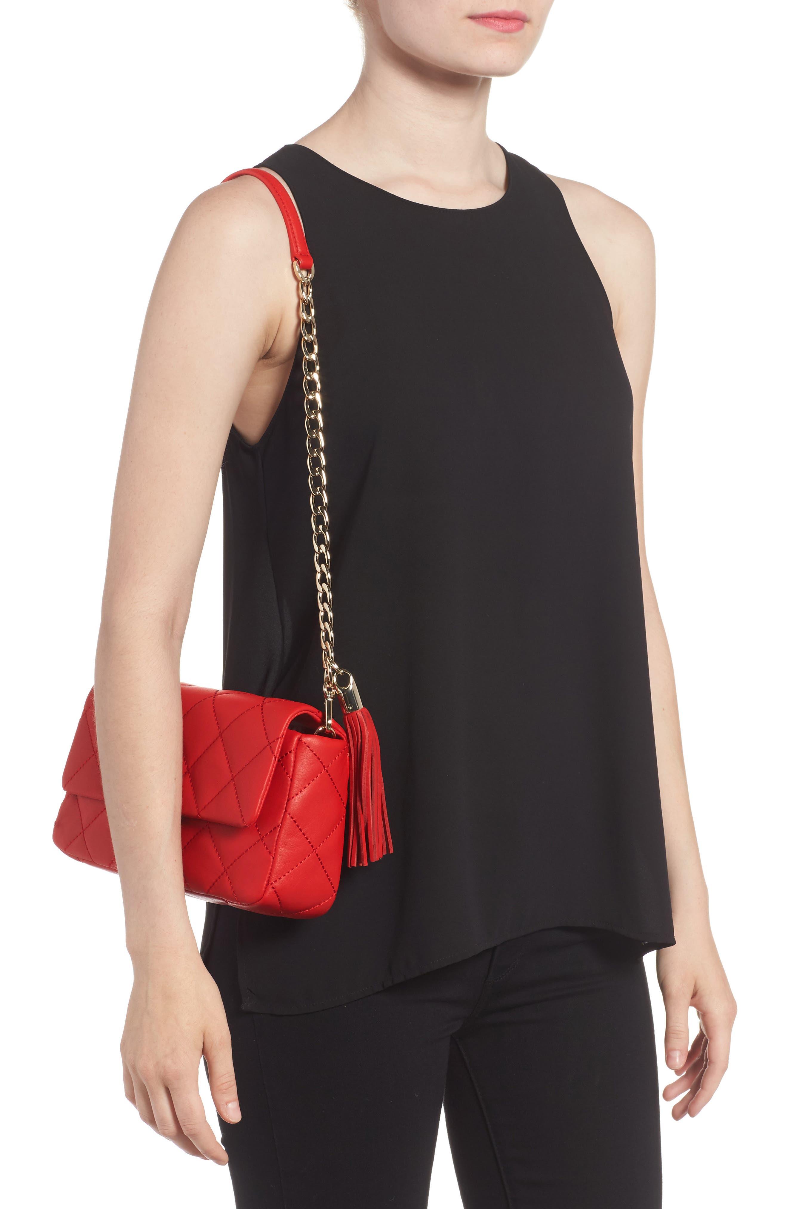 emerson place - serena leather shoulder bag,                             Alternate thumbnail 6, color,