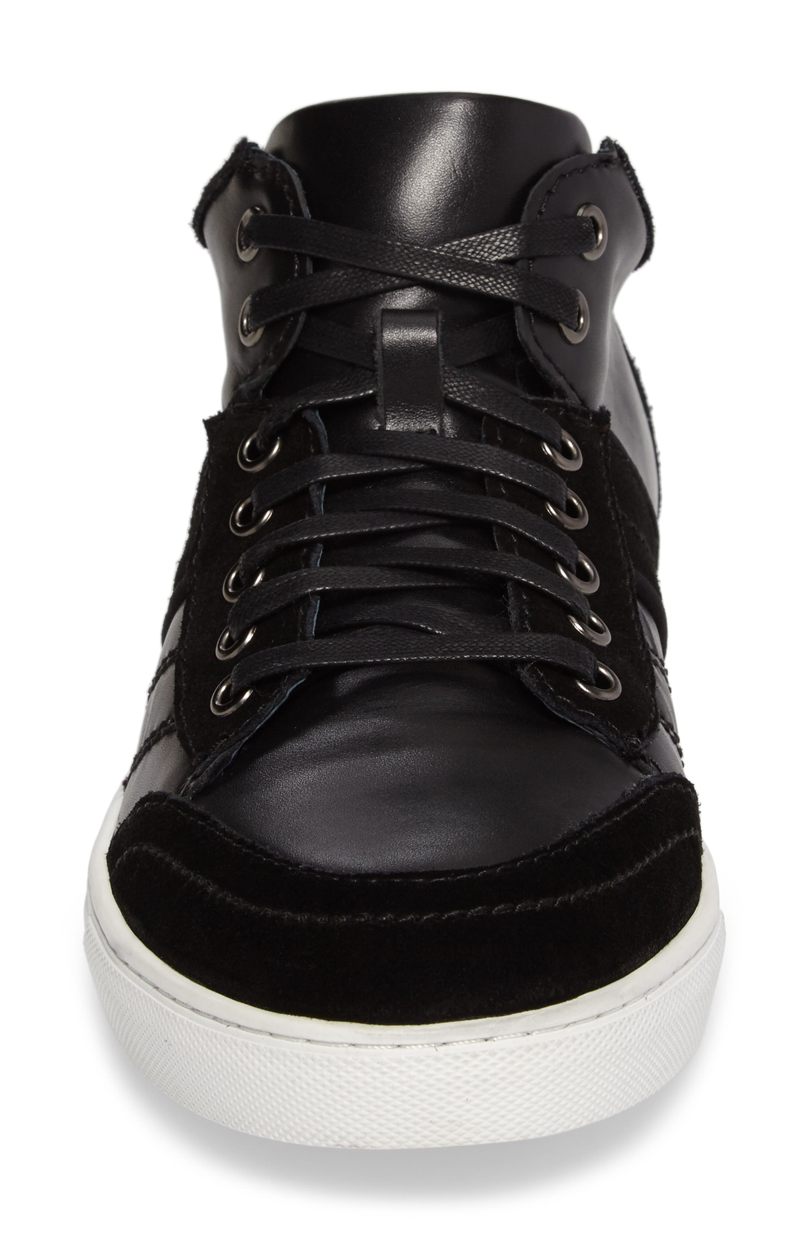 Viper Sneaker,                             Alternate thumbnail 4, color,                             BLACK