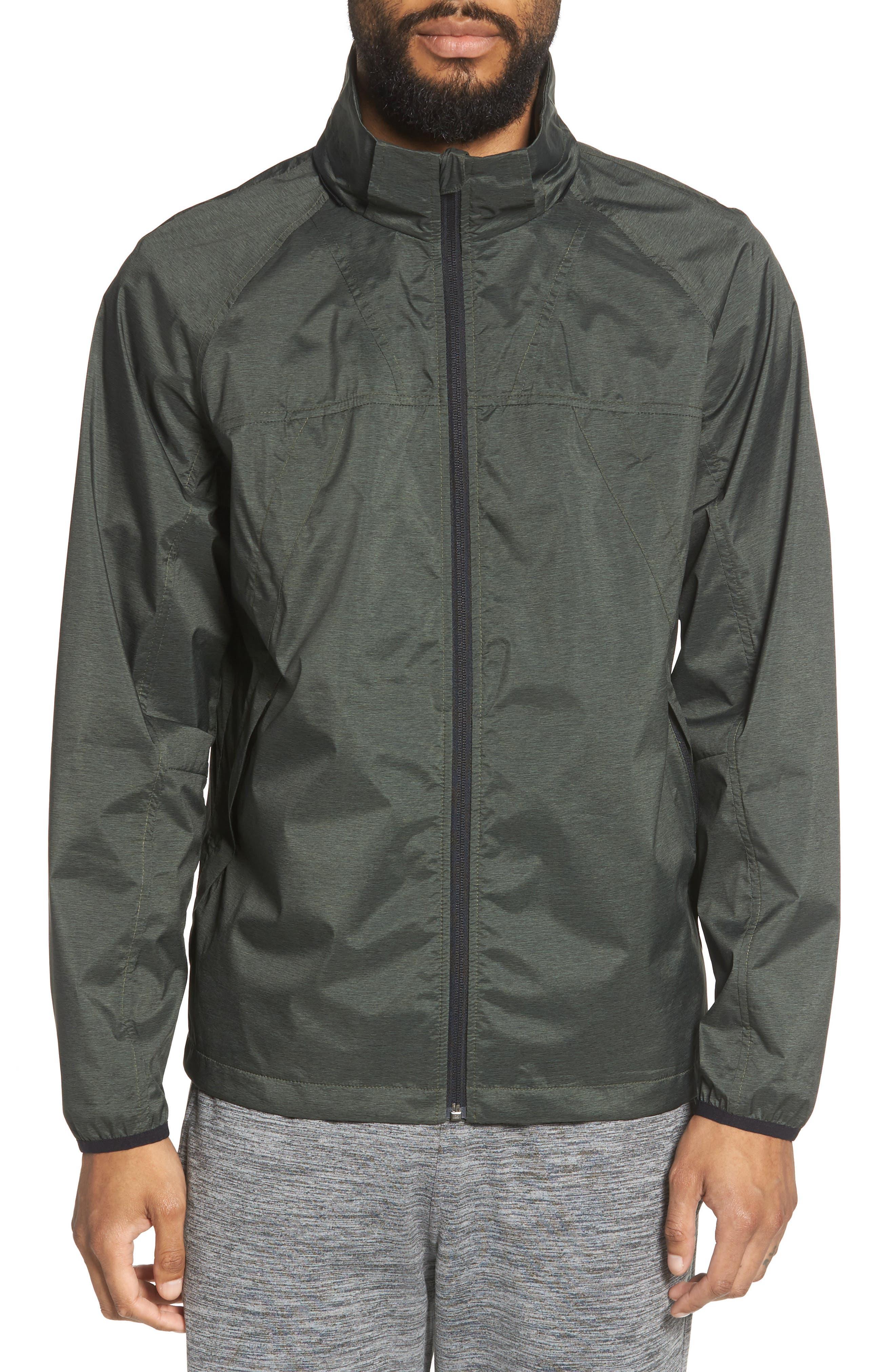 Xieite Hooded Jacket,                             Alternate thumbnail 4, color,                             GREEN TACTICAL MELANGE