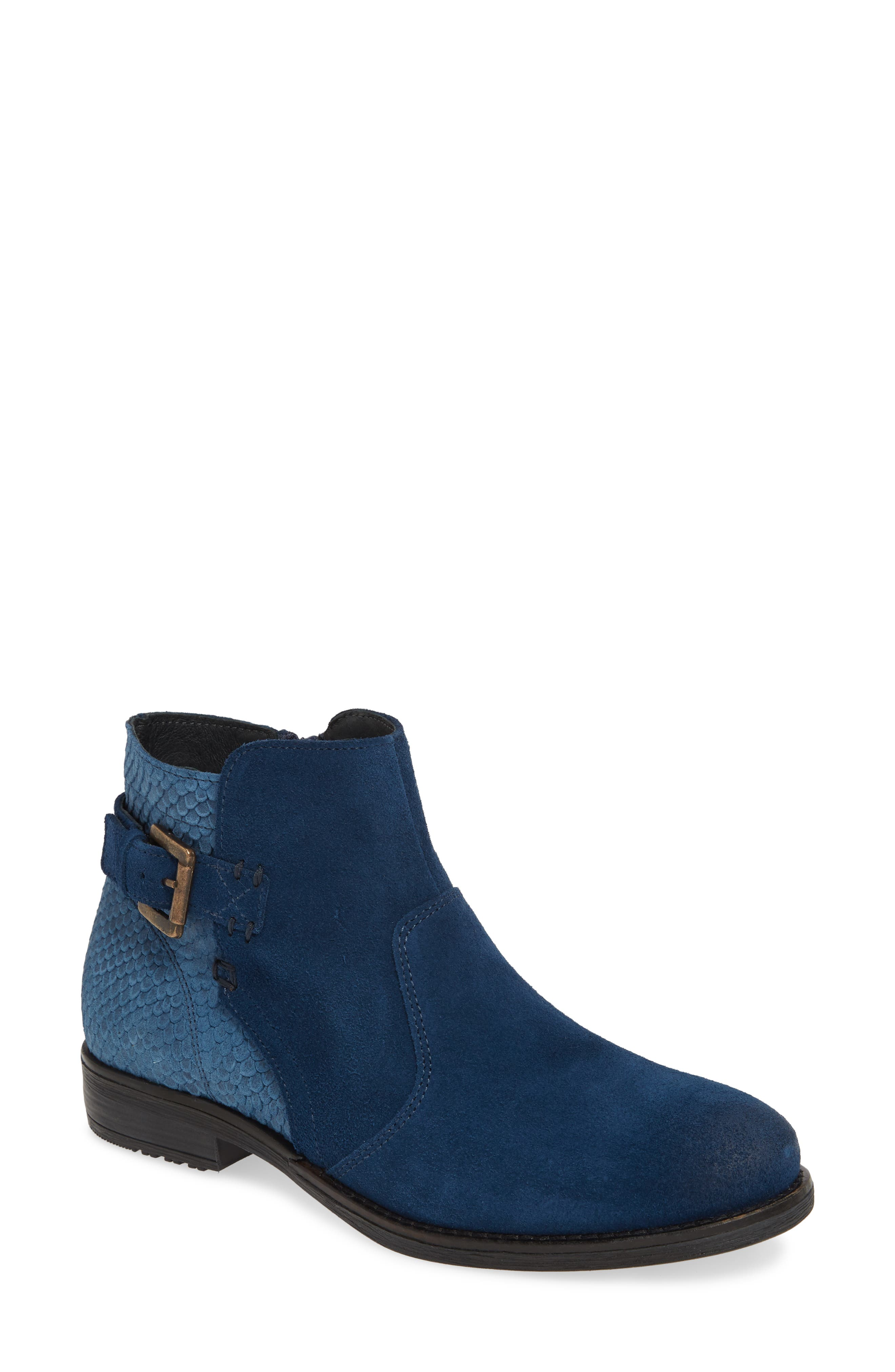 Bos. & Co. Tryn Bootie, Blue