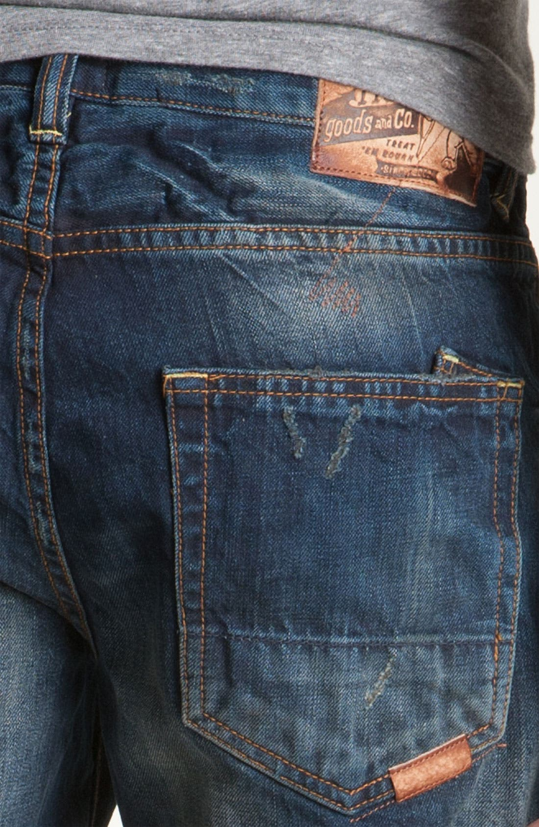 'Barracuda' Straight Leg Jeans,                             Alternate thumbnail 3, color,                             481