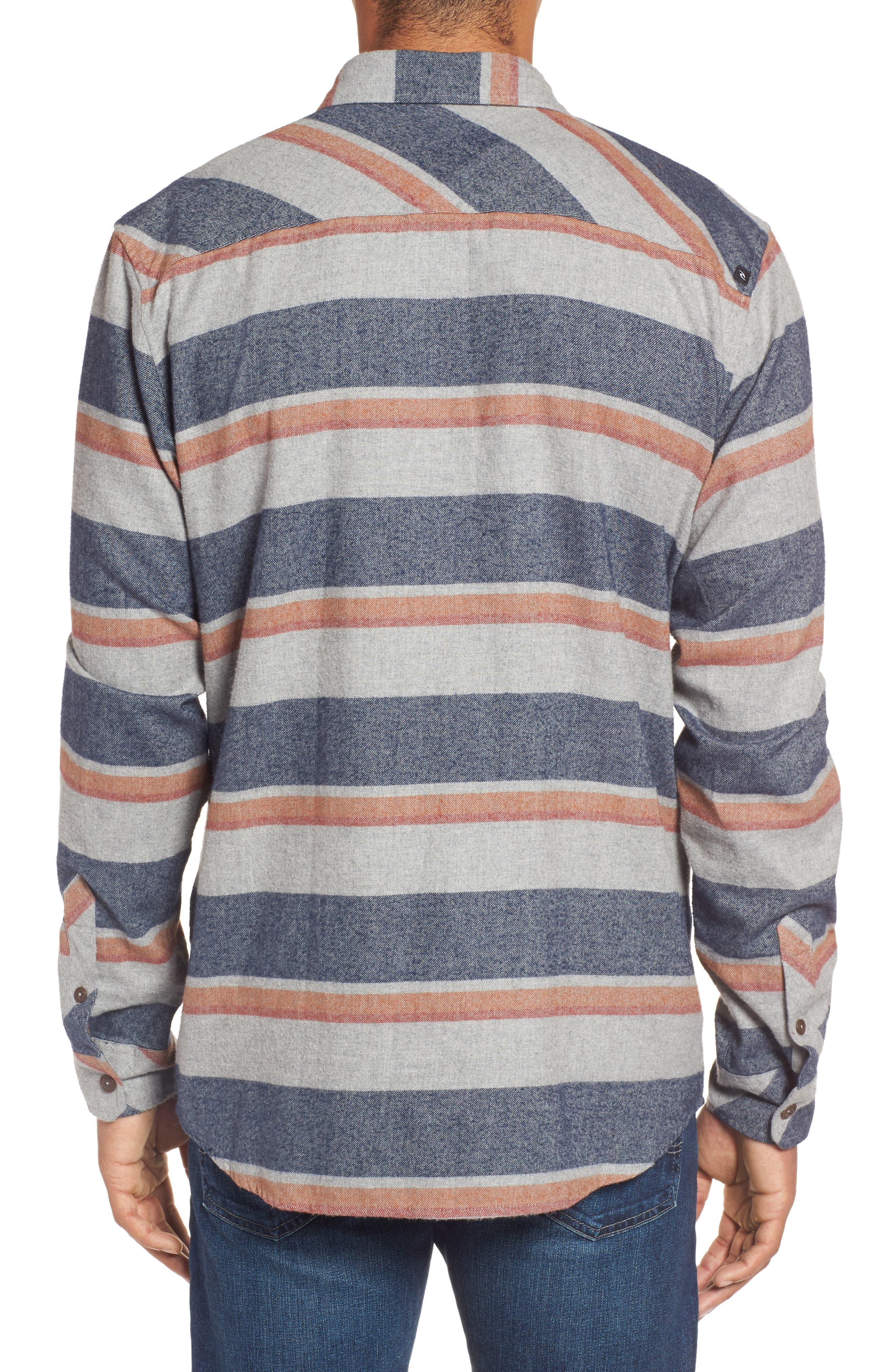 Seager Flannel Shirt,                             Alternate thumbnail 4, color,