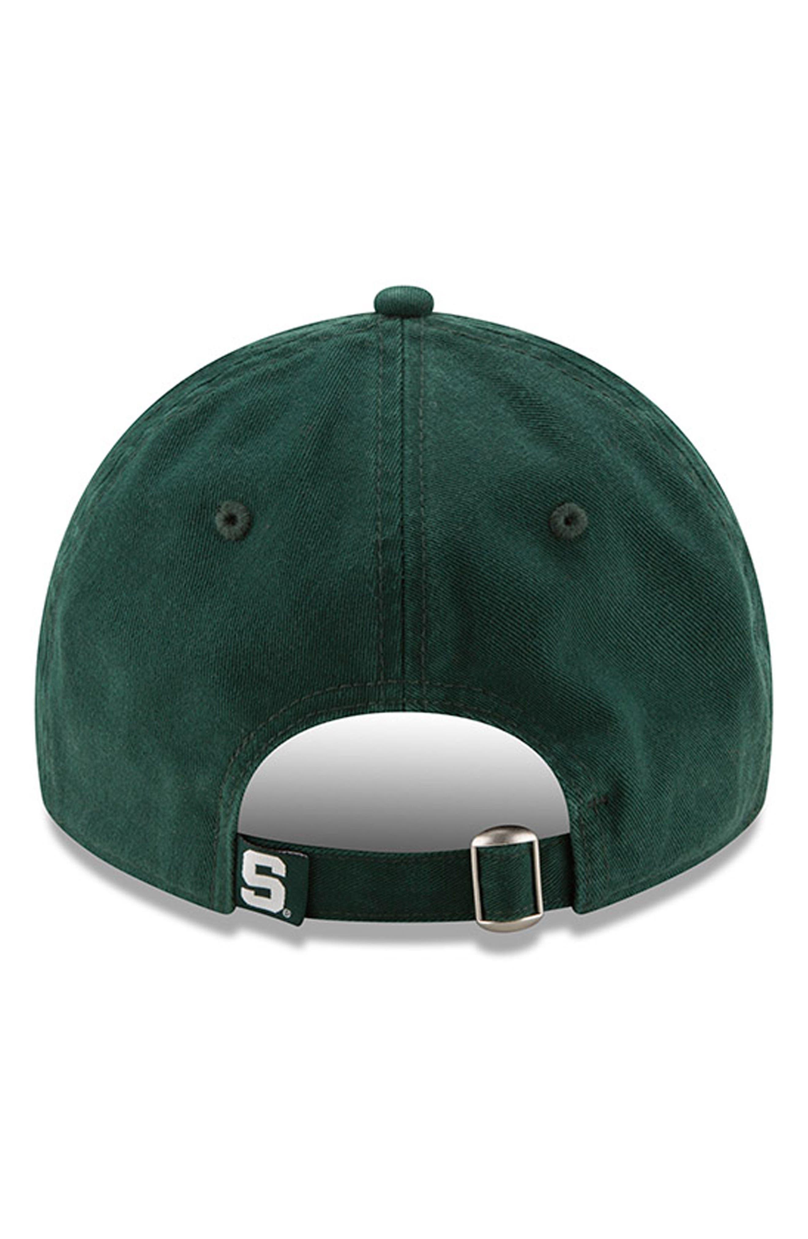 New Era Collegiate Core Classic - Michigan State Spartans Baseball Cap,                             Alternate thumbnail 3, color,                             301