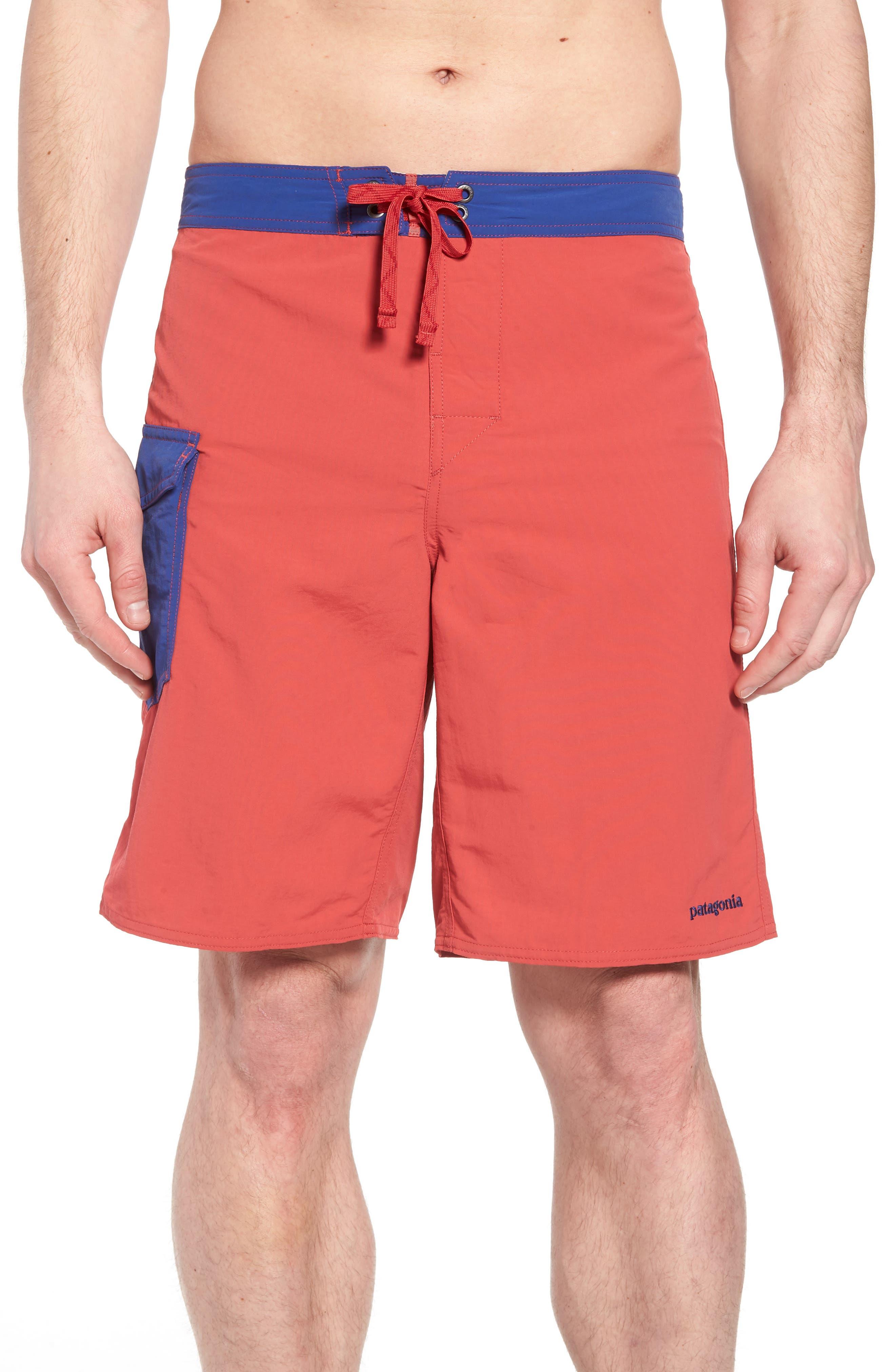Patagonia Wavefarer Board Shorts, Red