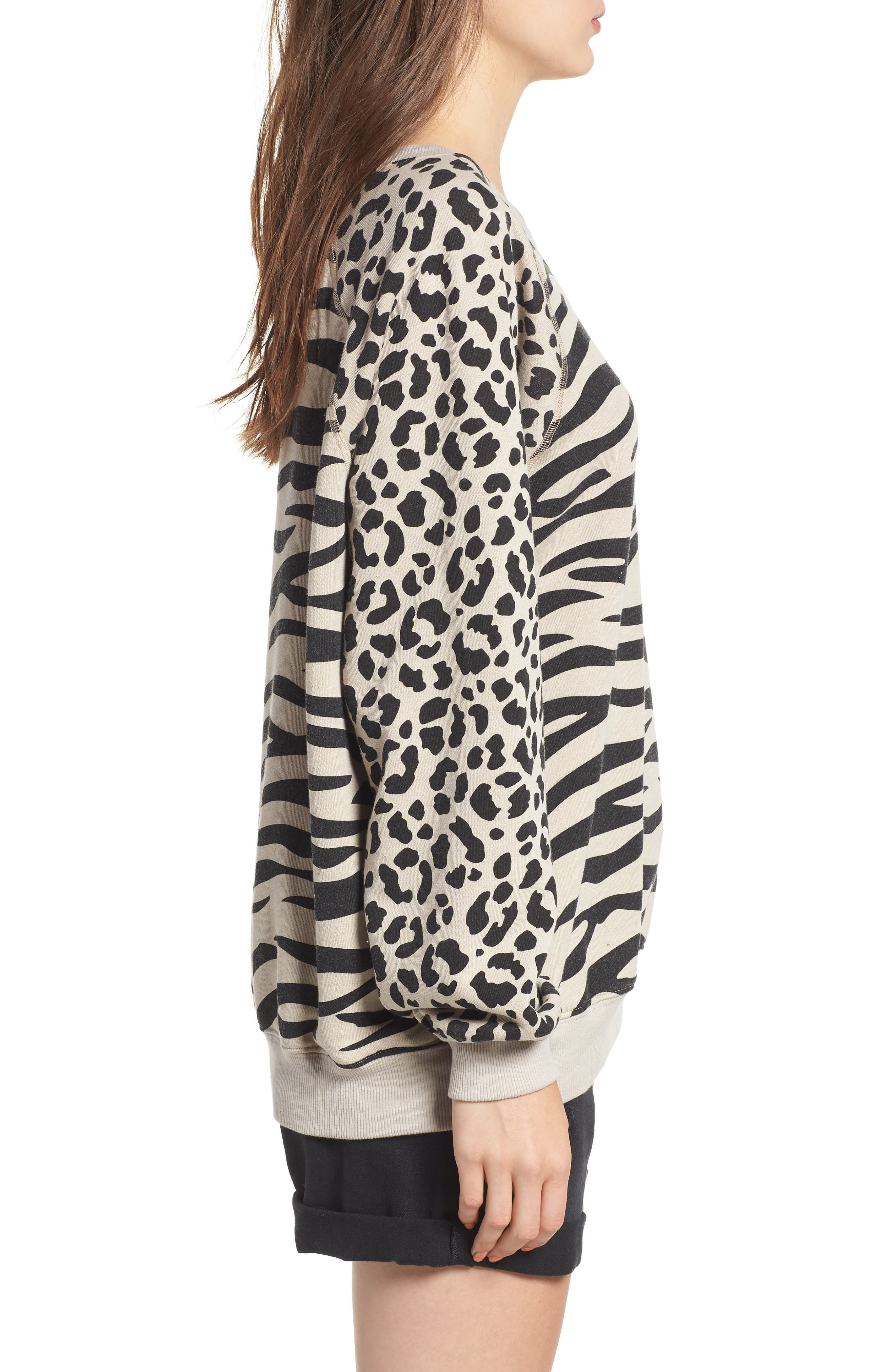 Easy Tiger Sommers Sweatshirt,                             Alternate thumbnail 3, color,                             MADERAS TAN
