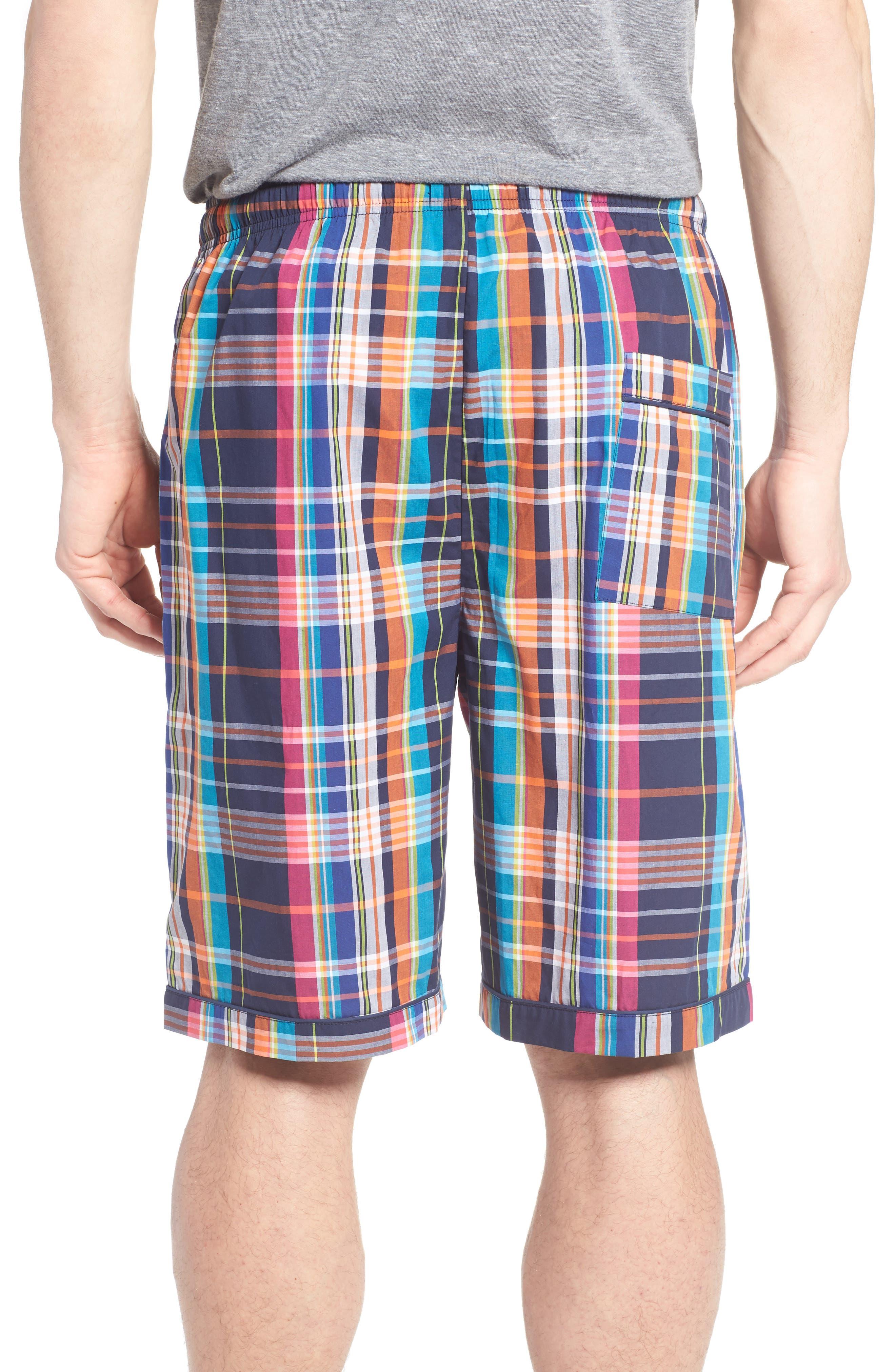 Cotton Lounge Shorts,                             Alternate thumbnail 2, color,                             001