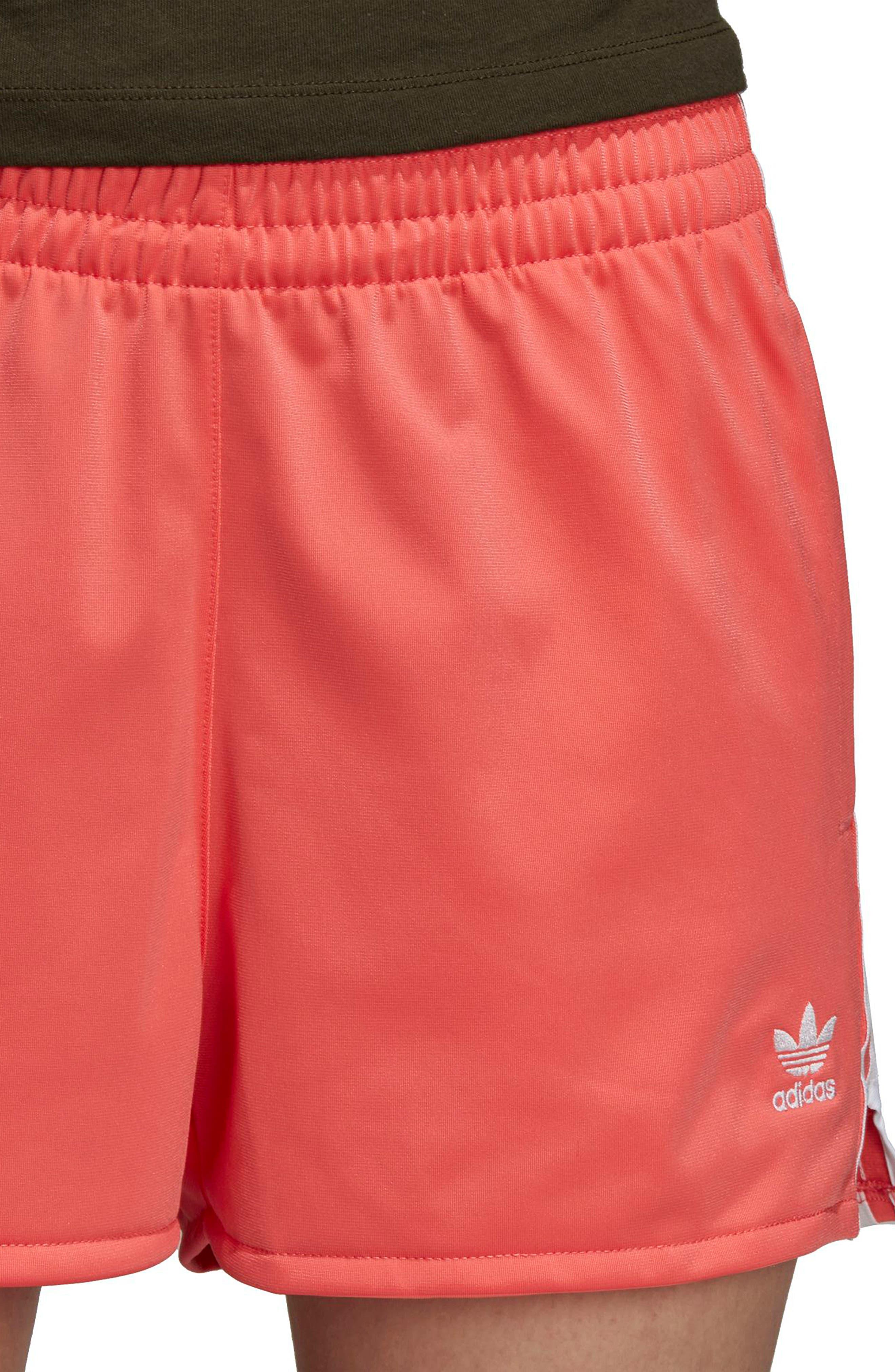ADIDAS ORIGINALS,                             3-Stripes Shorts,                             Alternate thumbnail 8, color,                             600
