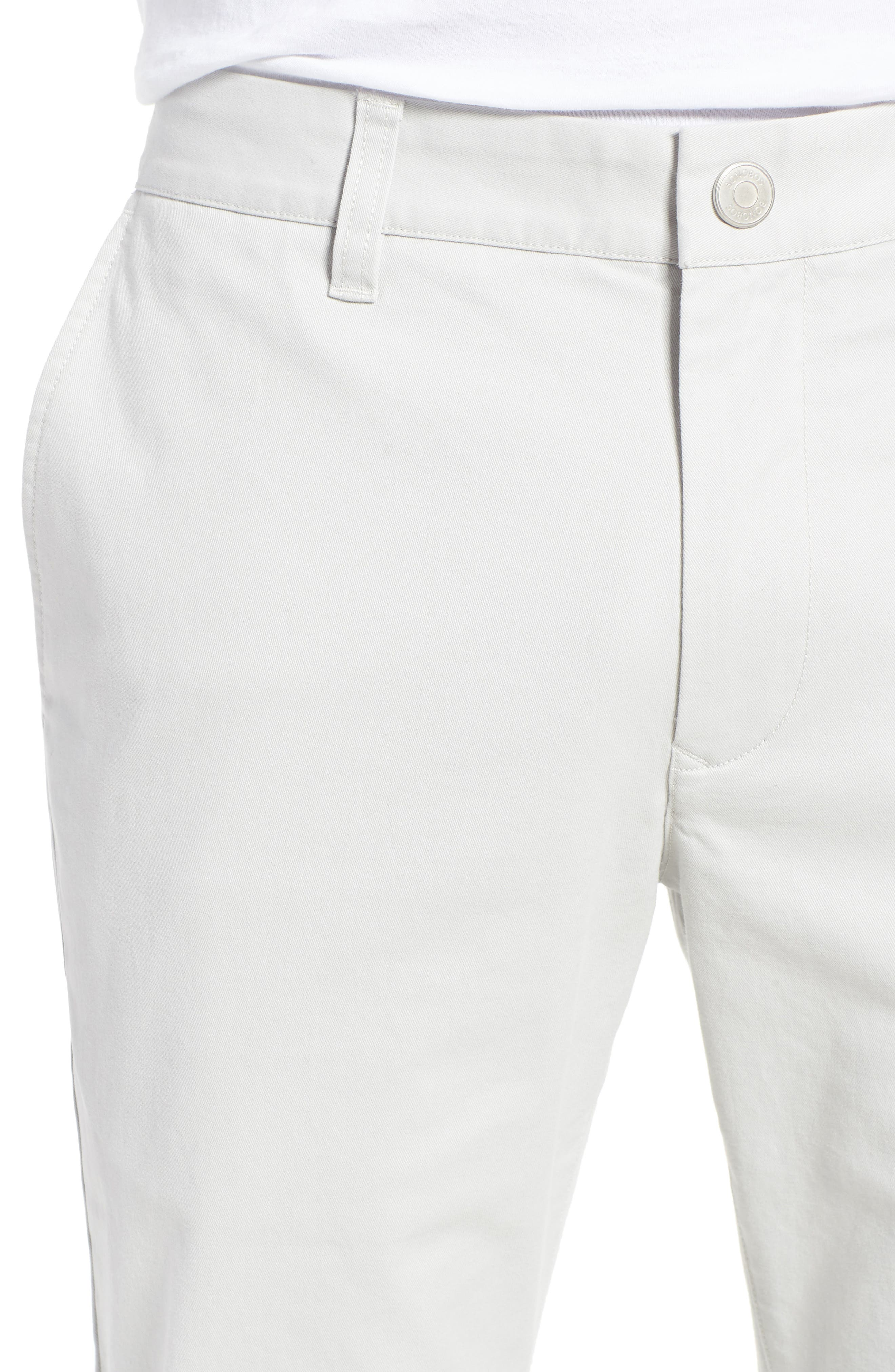 Tailored Fit Washed Stretch Cotton Chinos,                             Alternate thumbnail 131, color,