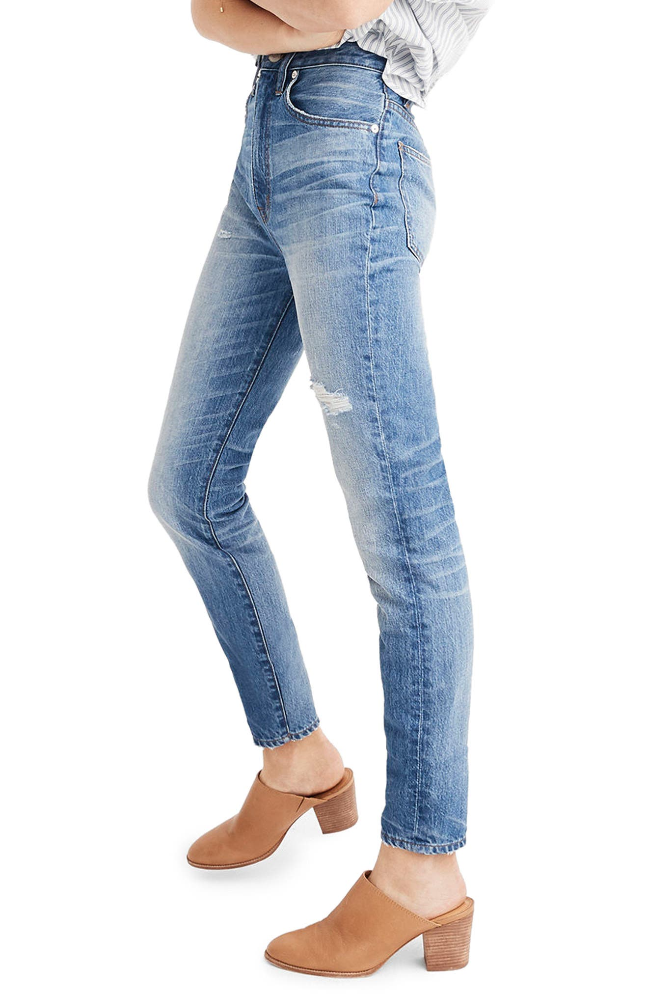 Rigid High Waist Skinny Jeans,                             Alternate thumbnail 2, color,                             NAPA