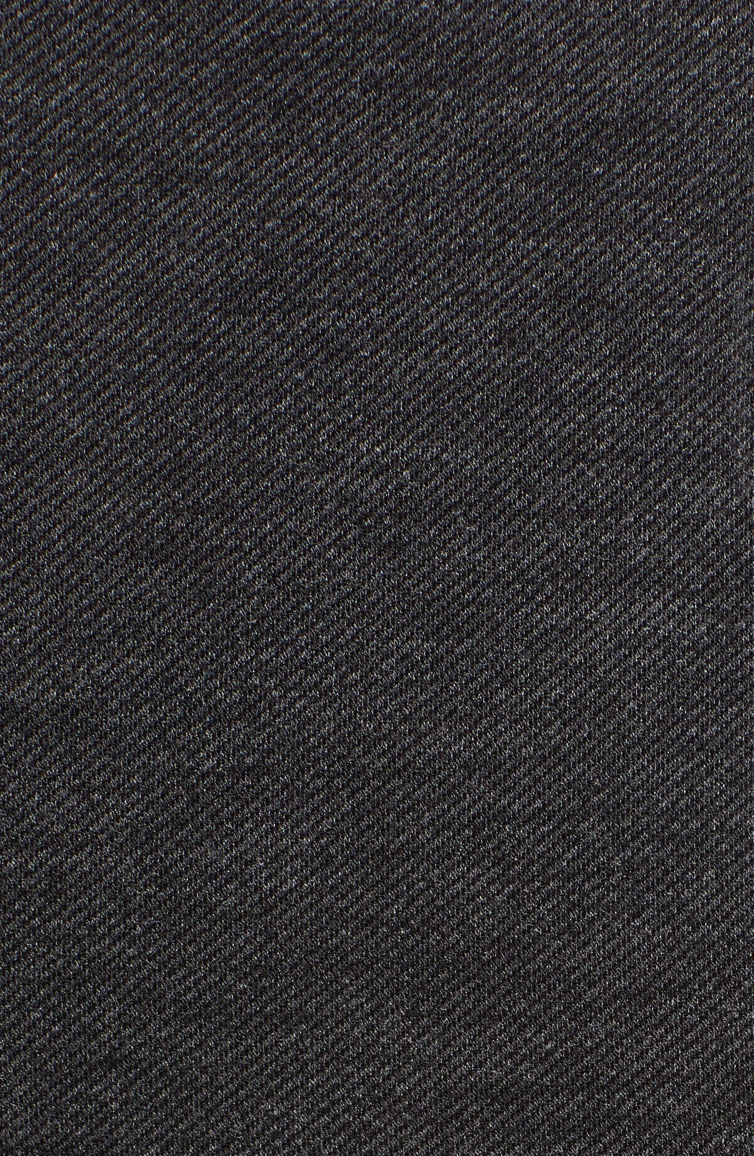 Ponte Flare Pants,                             Alternate thumbnail 6, color,                             BLACK