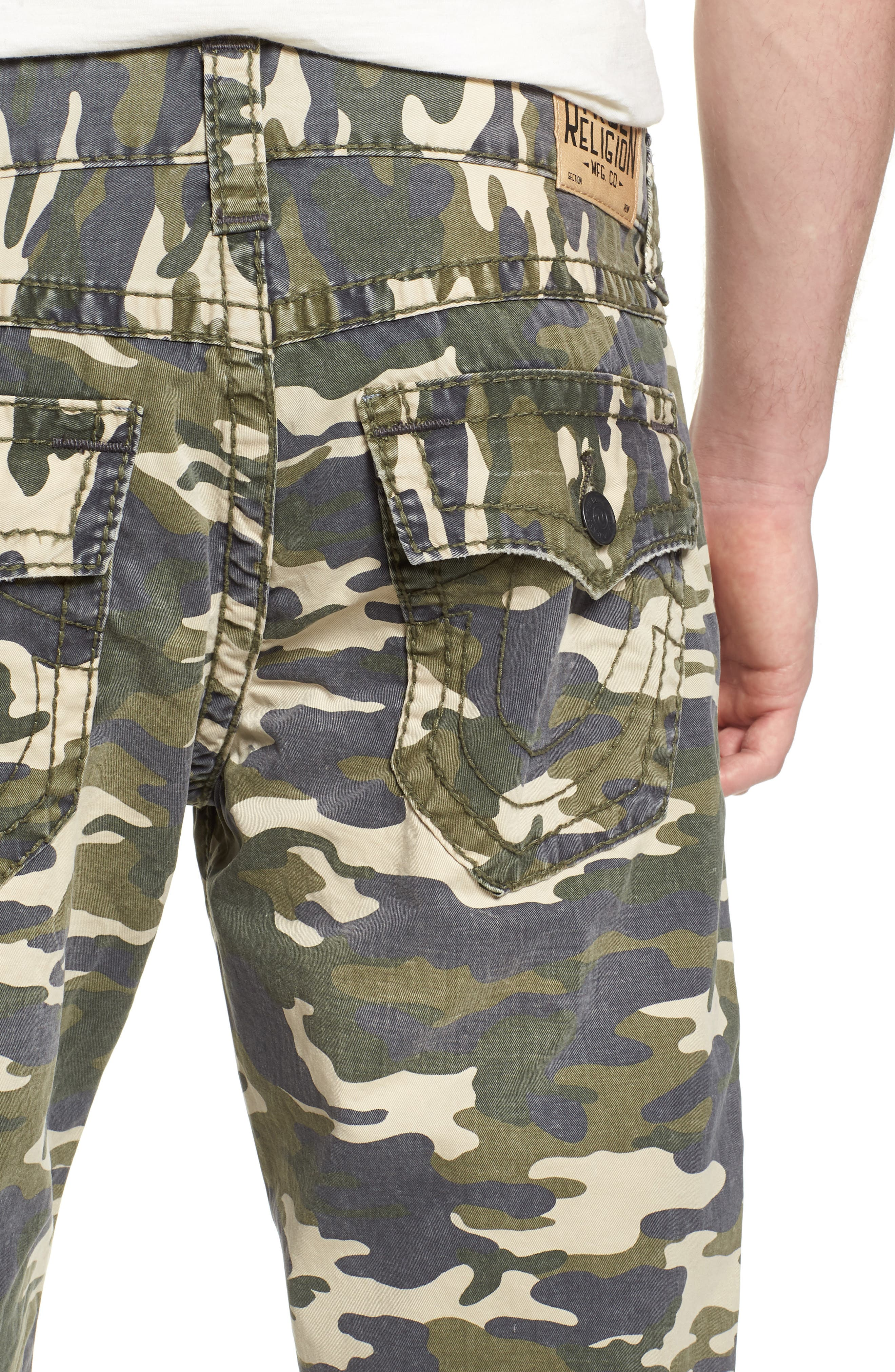 Ricky Relaxed Fit Shorts,                             Alternate thumbnail 4, color,                             TERRITORY