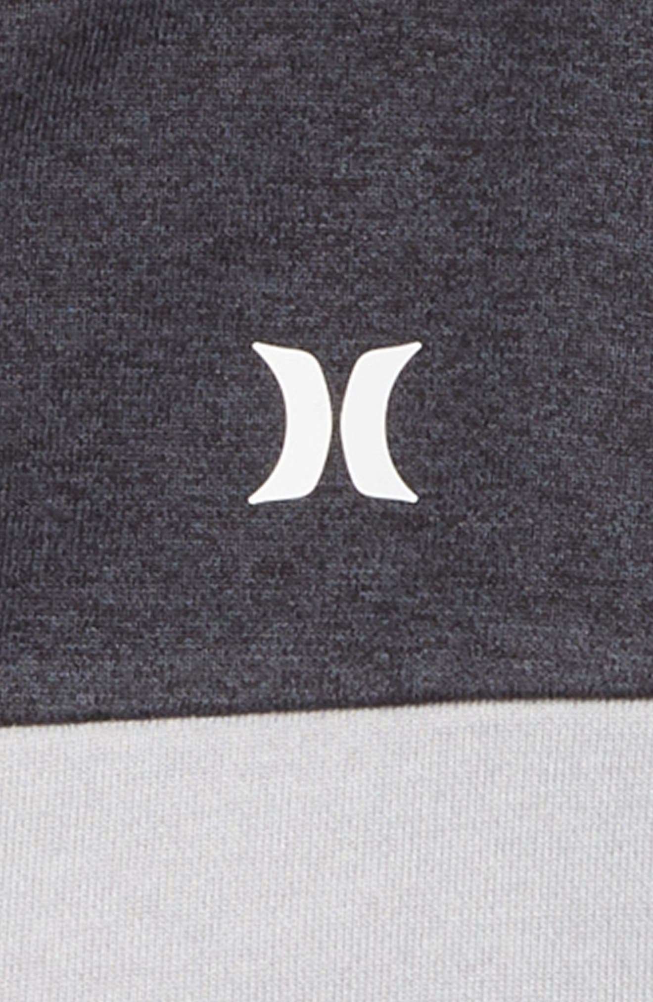 Dri-FIT Solar Zip Hoodie,                             Alternate thumbnail 2, color,                             GREY HEATHER
