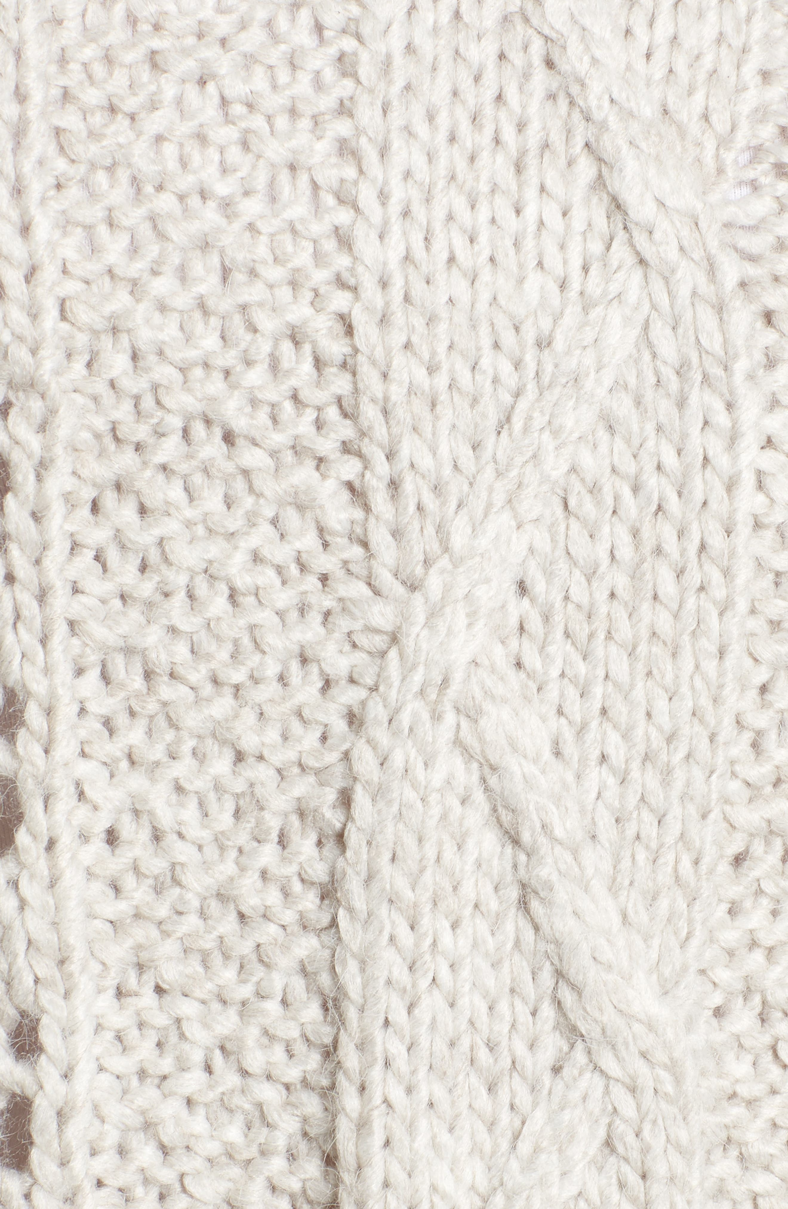 Prilla Fringe Cowl Neck Sweater,                             Alternate thumbnail 5, color,