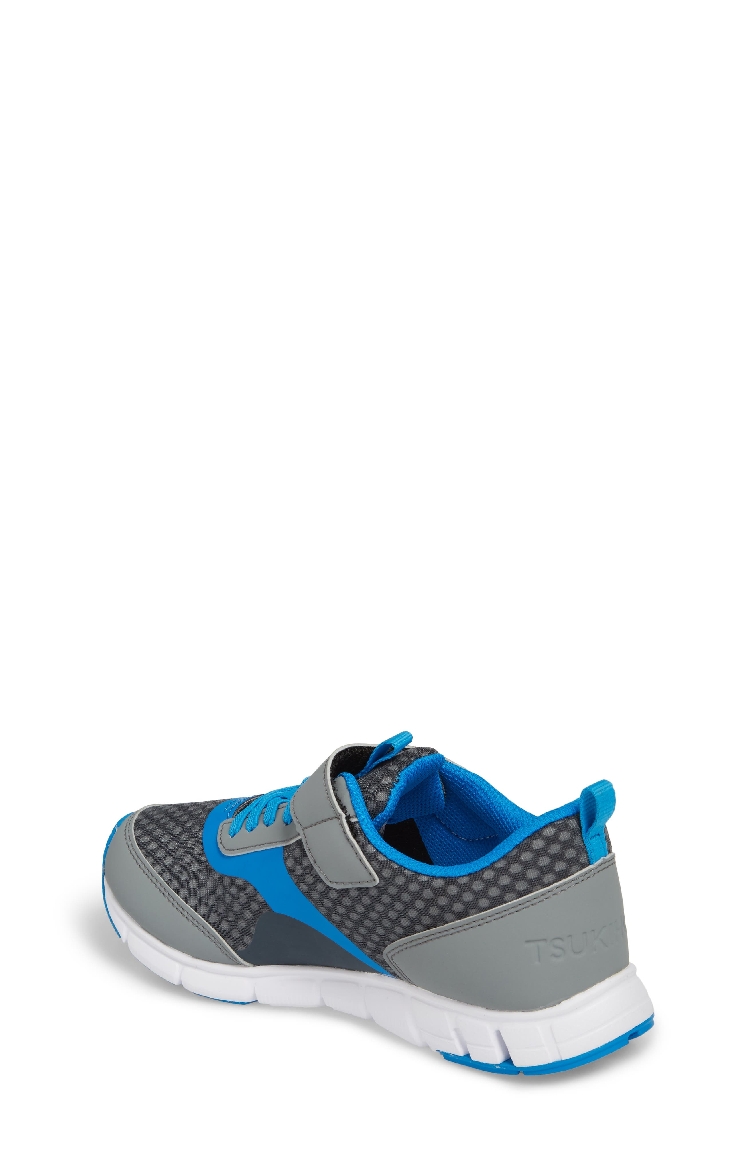 Sonic Washable Sneaker,                             Alternate thumbnail 2, color,                             GRAY/ ROYAL
