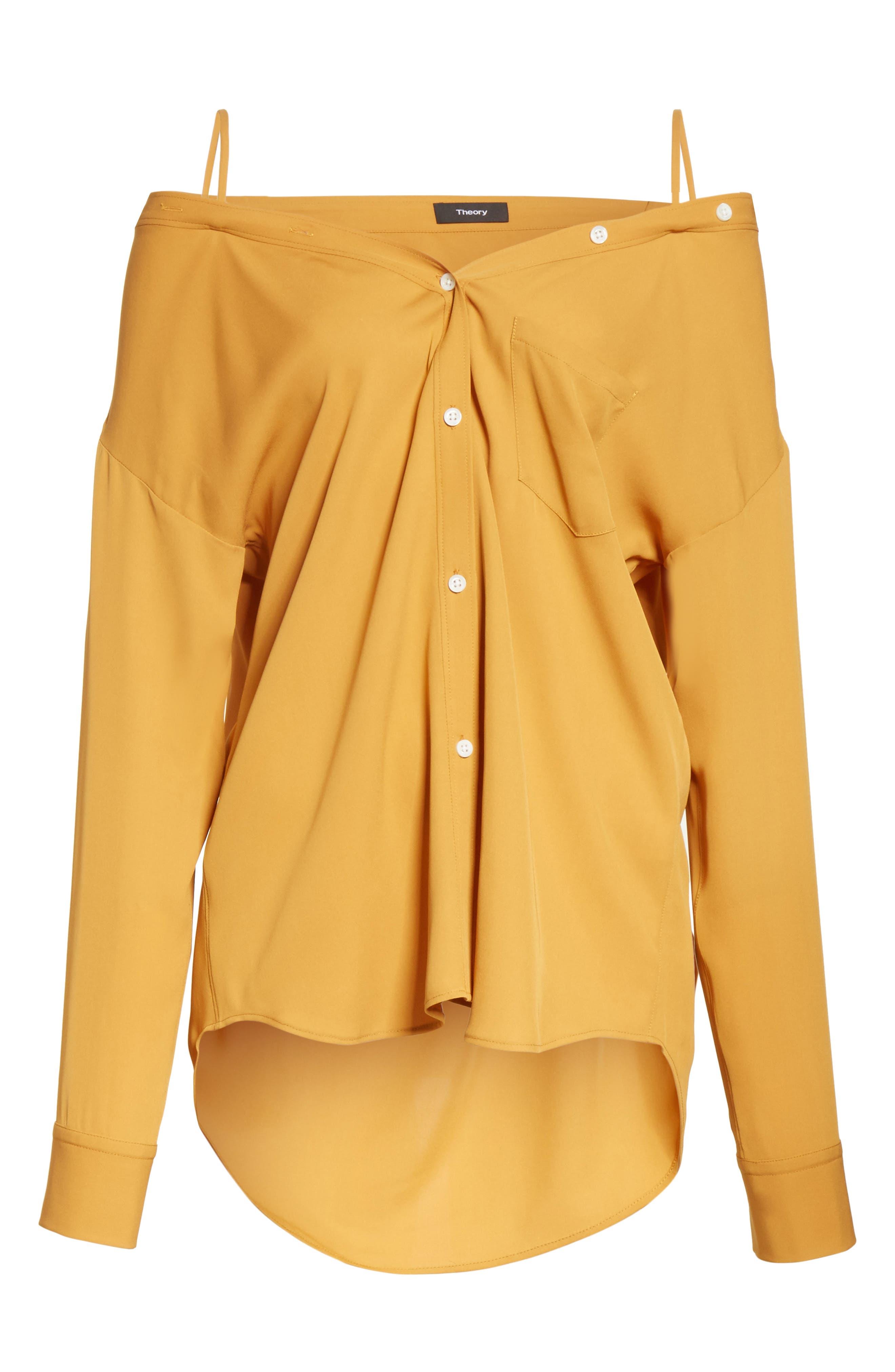 Tamalee Silk Shirt,                             Alternate thumbnail 23, color,