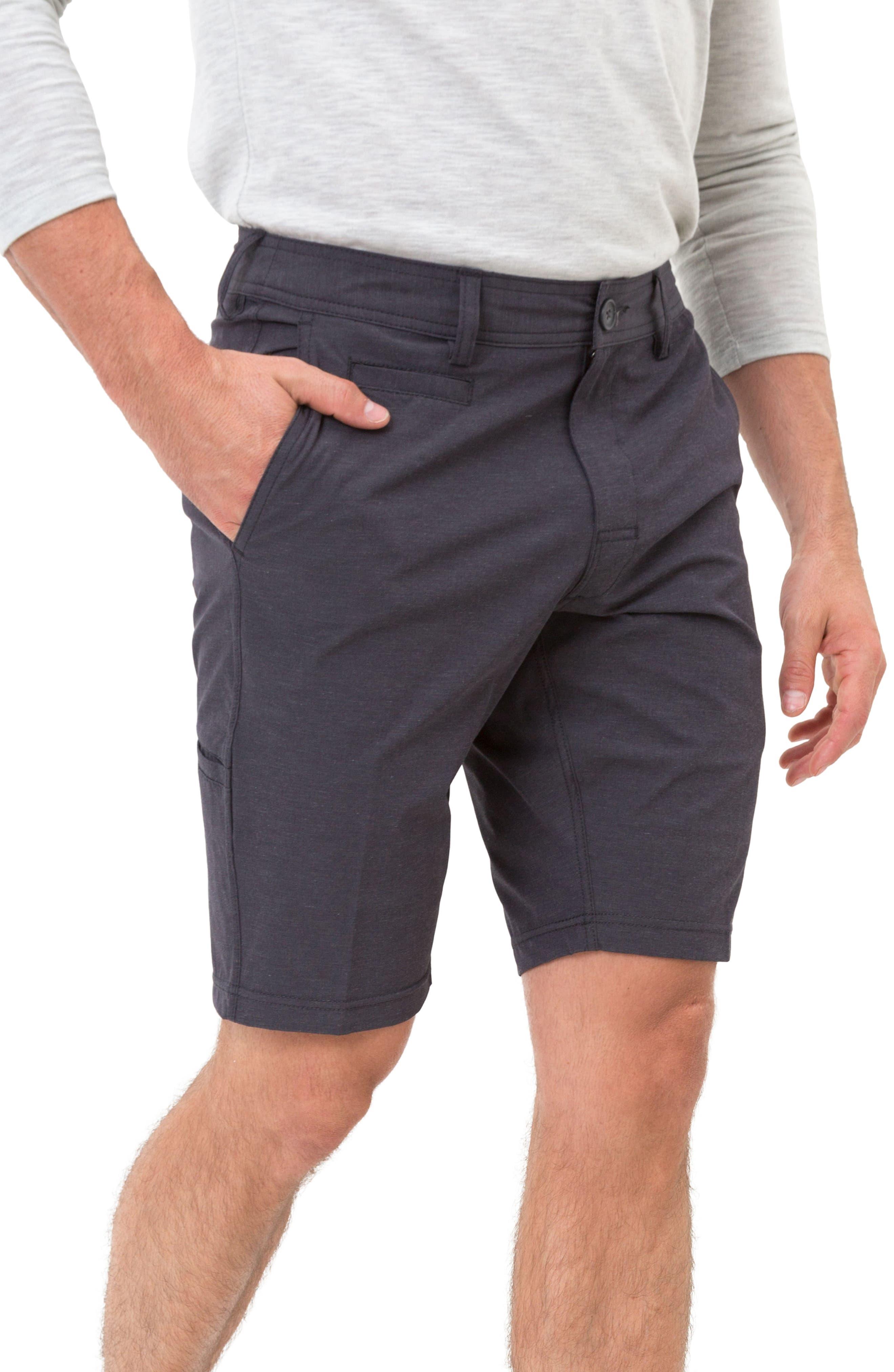 Velocity Hybrid Shorts,                             Main thumbnail 1, color,                             CHARCOAL