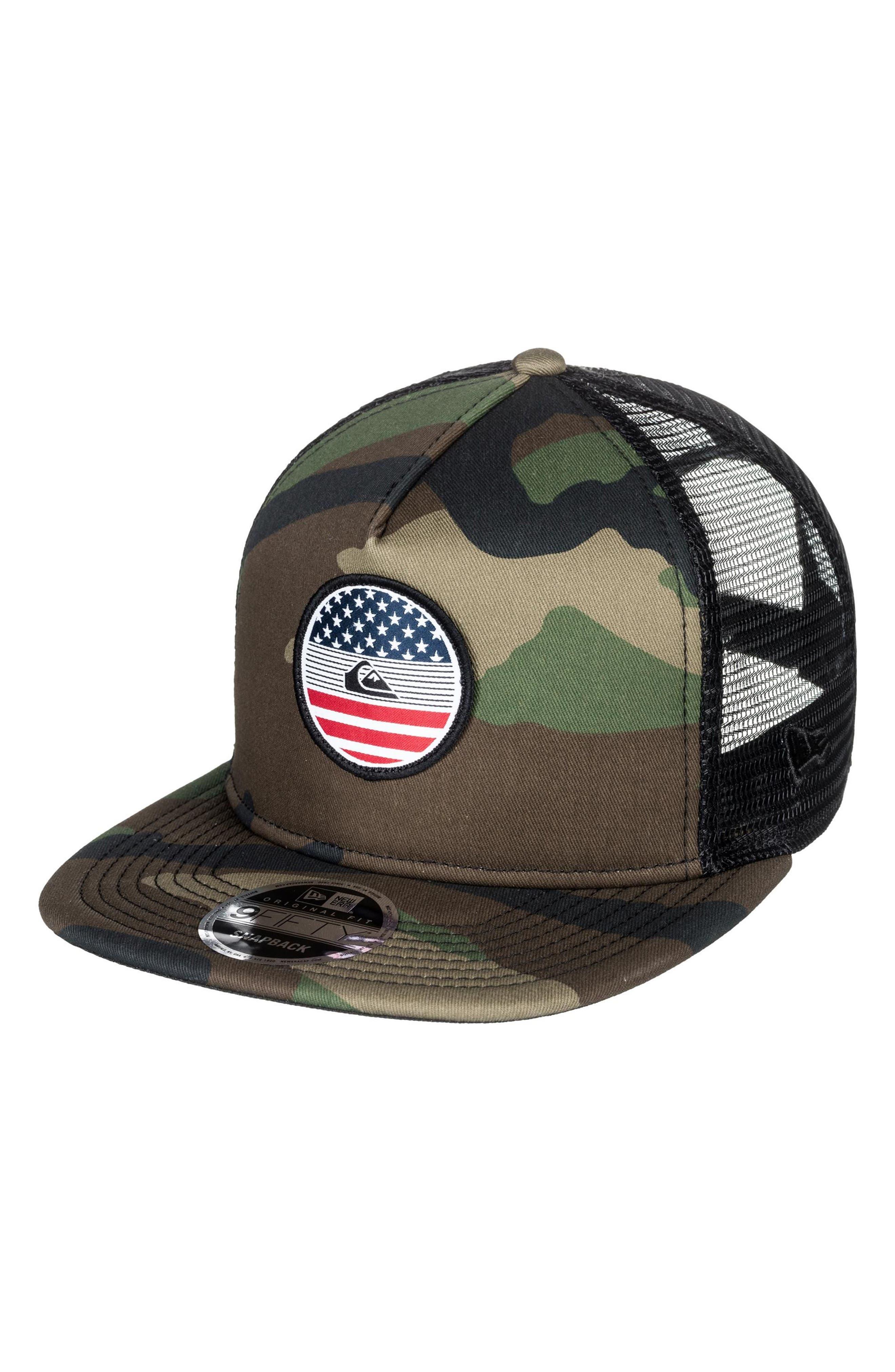 Flag Trucker Hat,                             Main thumbnail 2, color,