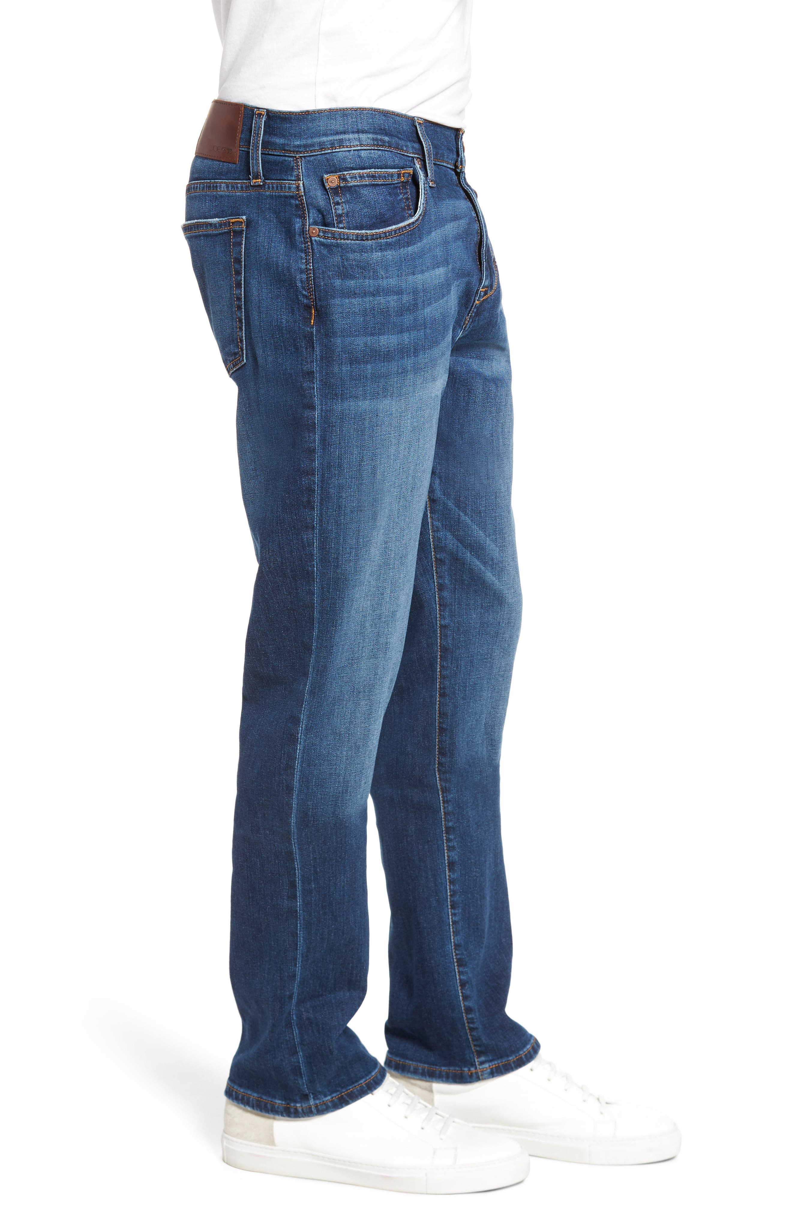 Brixton Slim Straight Fit Jeans,                             Alternate thumbnail 3, color,                             BRADLEE