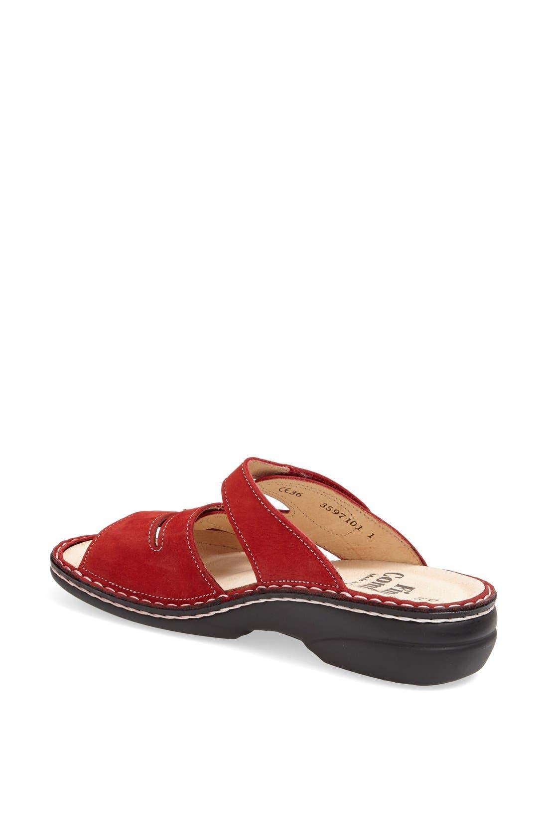 'Ventura' Sandal,                             Alternate thumbnail 2, color,                             RED