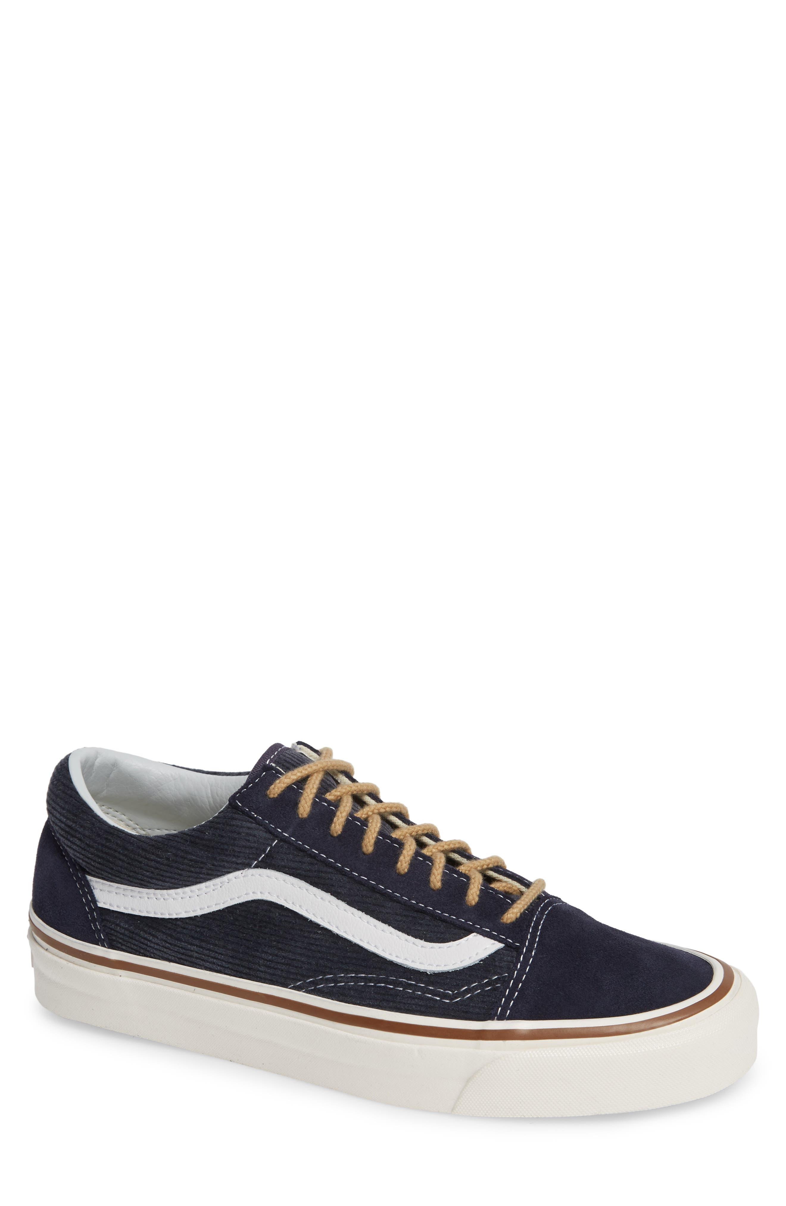 Anaheim Factory Old Skool 36 DX Sneaker,                         Main,                         color, NAVY/ SUEDE/ CORDUROY