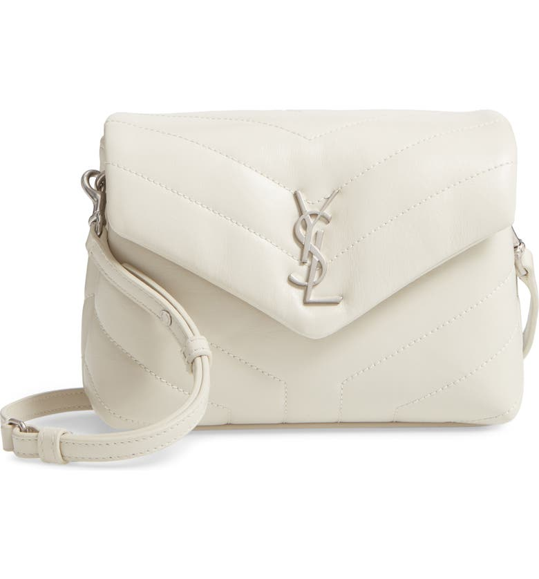 70fc0f375b78 Saint Laurent Toy Loulou Calfskin Leather Crossbody Bag