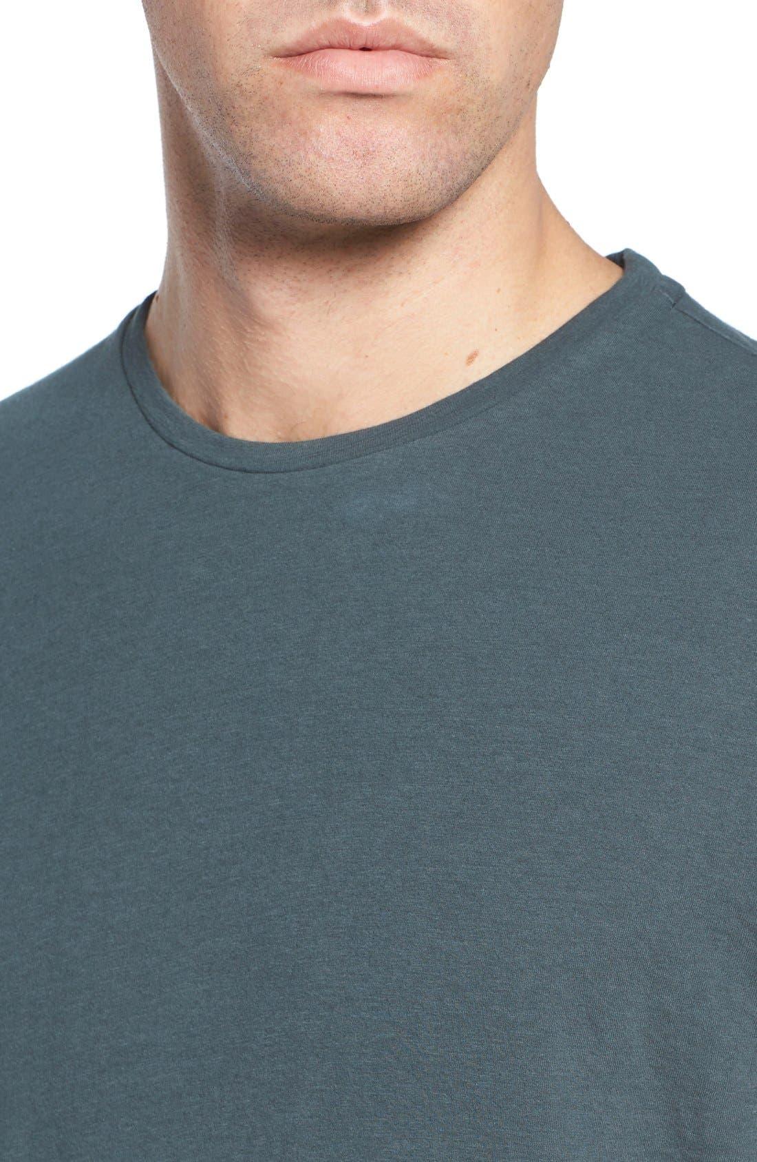 Long Sleeve Crewneck T-Shirt,                             Alternate thumbnail 13, color,