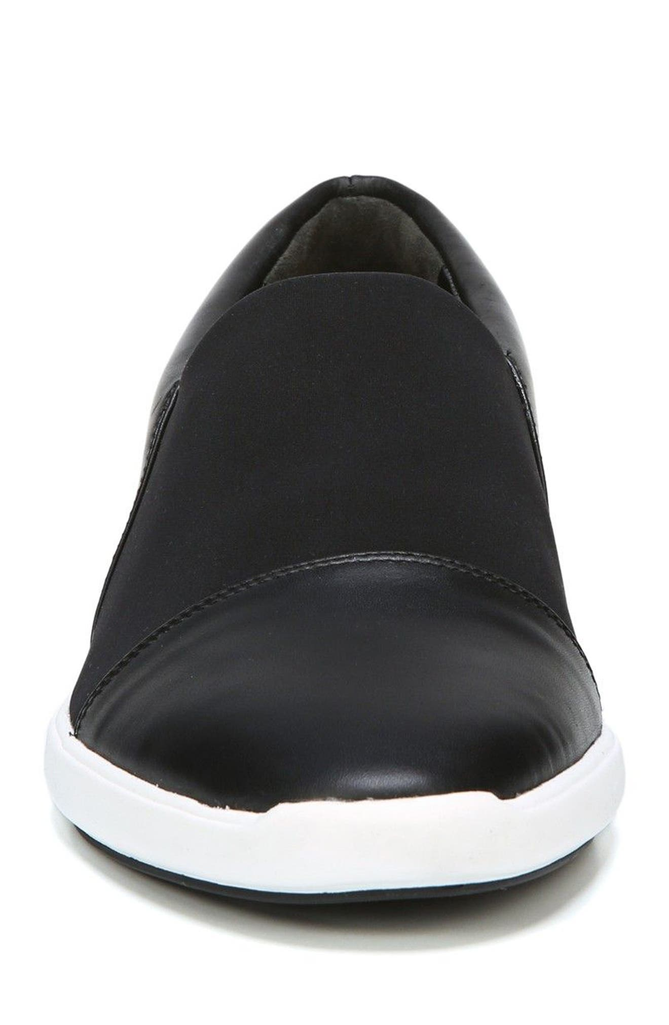 Morgan Slip-On Sneaker,                             Alternate thumbnail 4, color,                             001