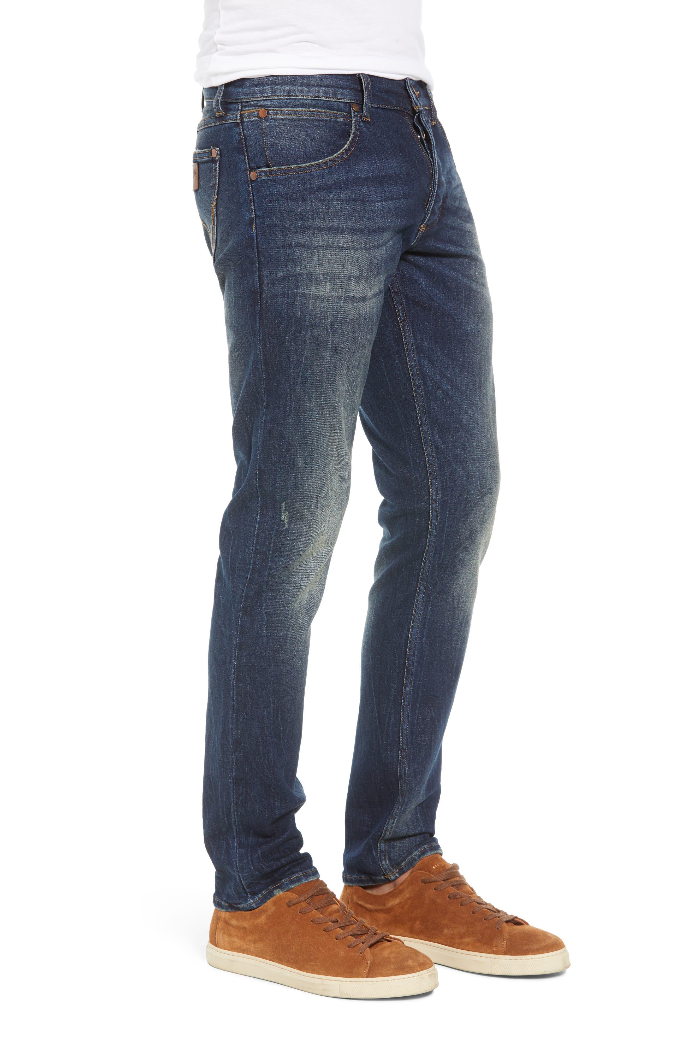 Larston Slim Fit Jeans,                             Alternate thumbnail 3, color,                             VINTAGE DARK