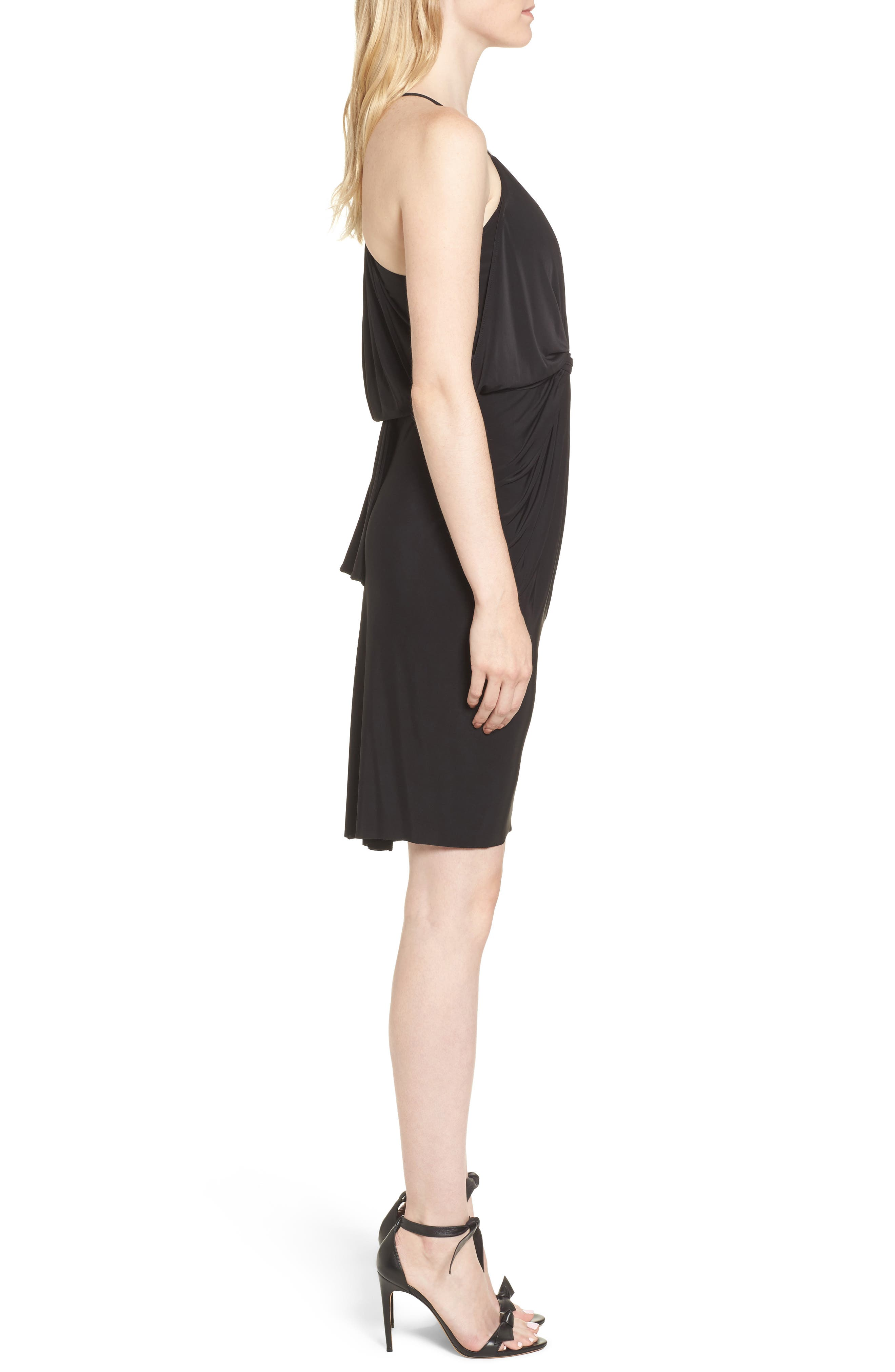 MISA LOS ANGELES,                             Domino Dress,                             Alternate thumbnail 3, color,                             001