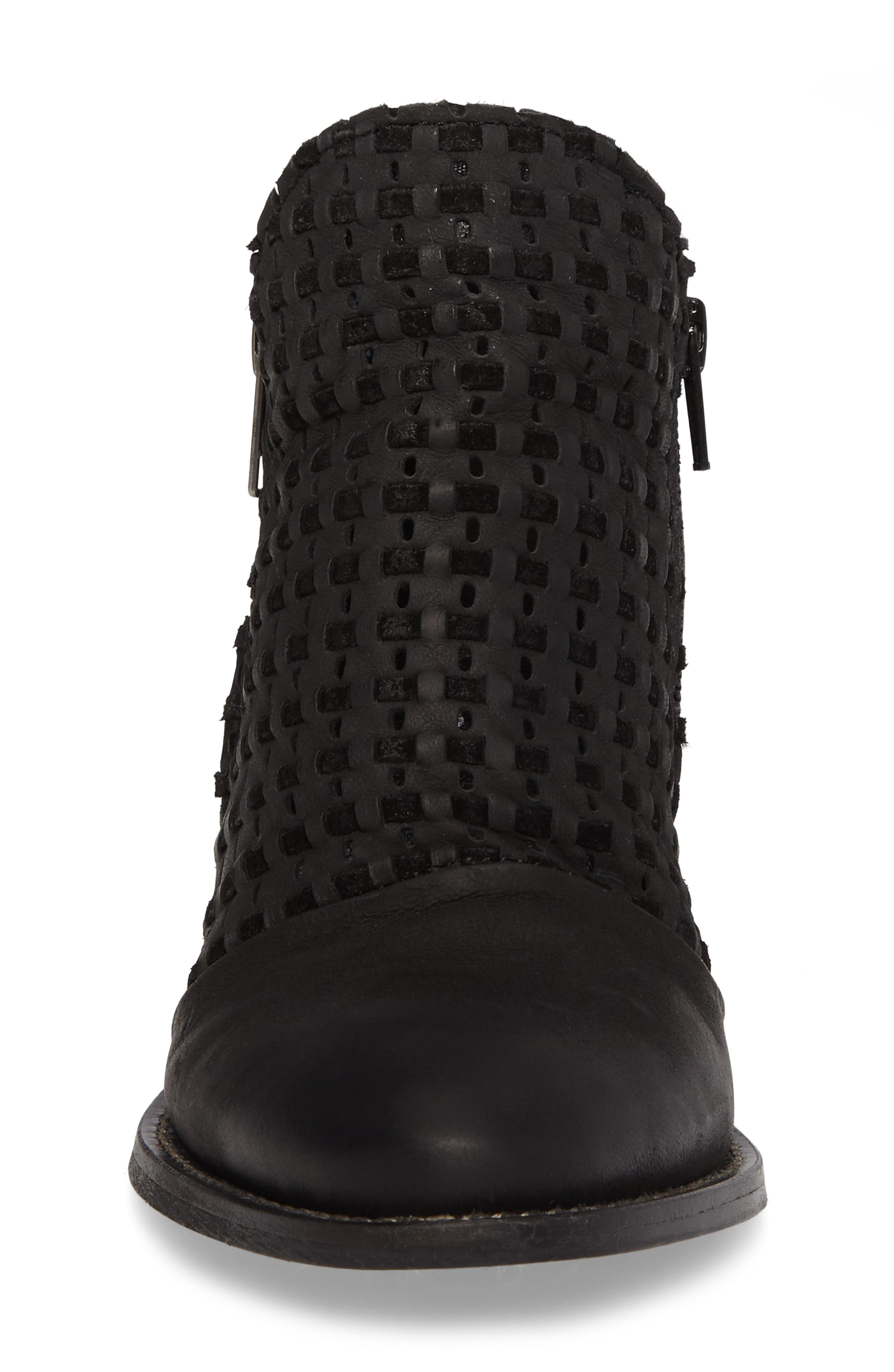 Ravi Perforated Woven Bootie,                             Alternate thumbnail 7, color,