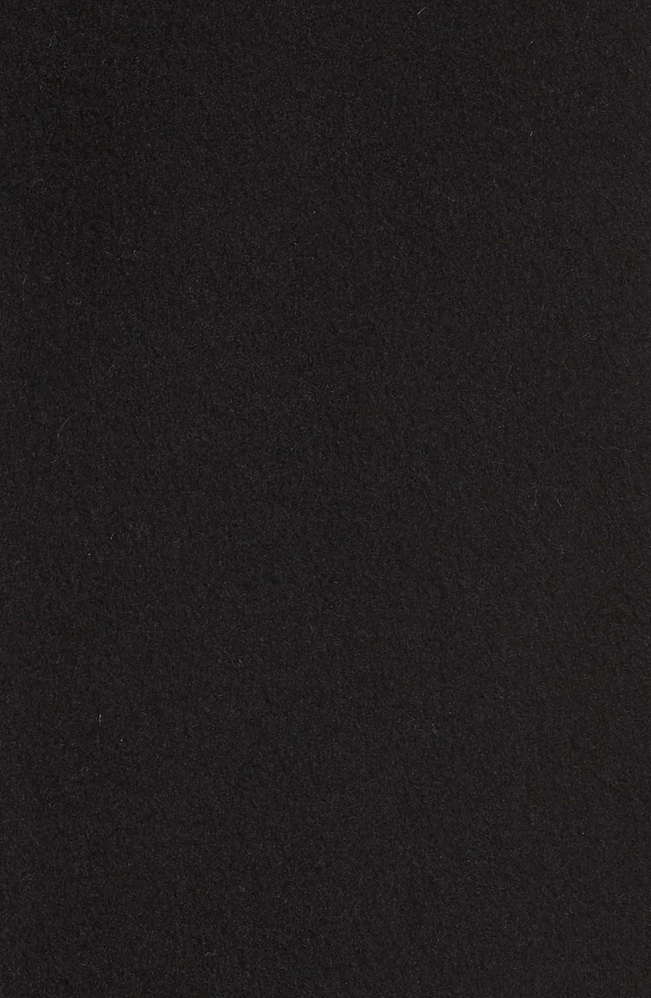 Wool & Cashmere Car Coat,                             Alternate thumbnail 6, color,                             001
