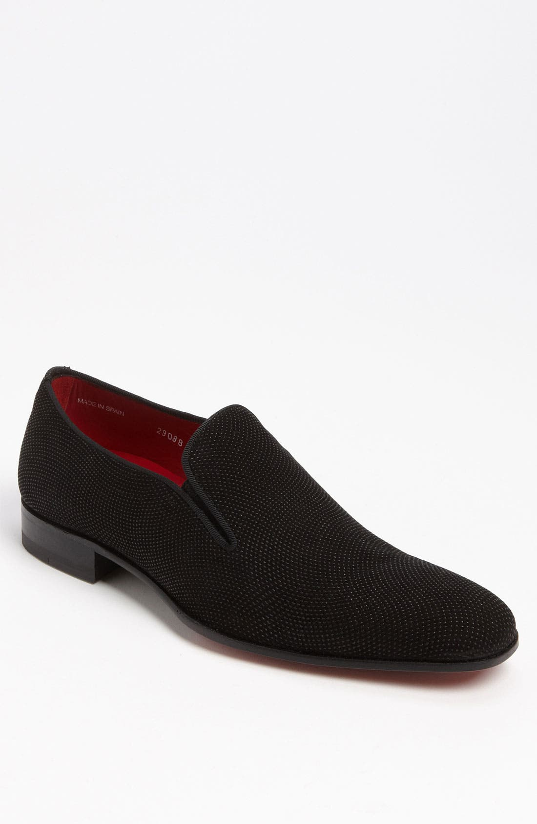 'Crespi' Slip-On,                         Main,                         color, BLACK