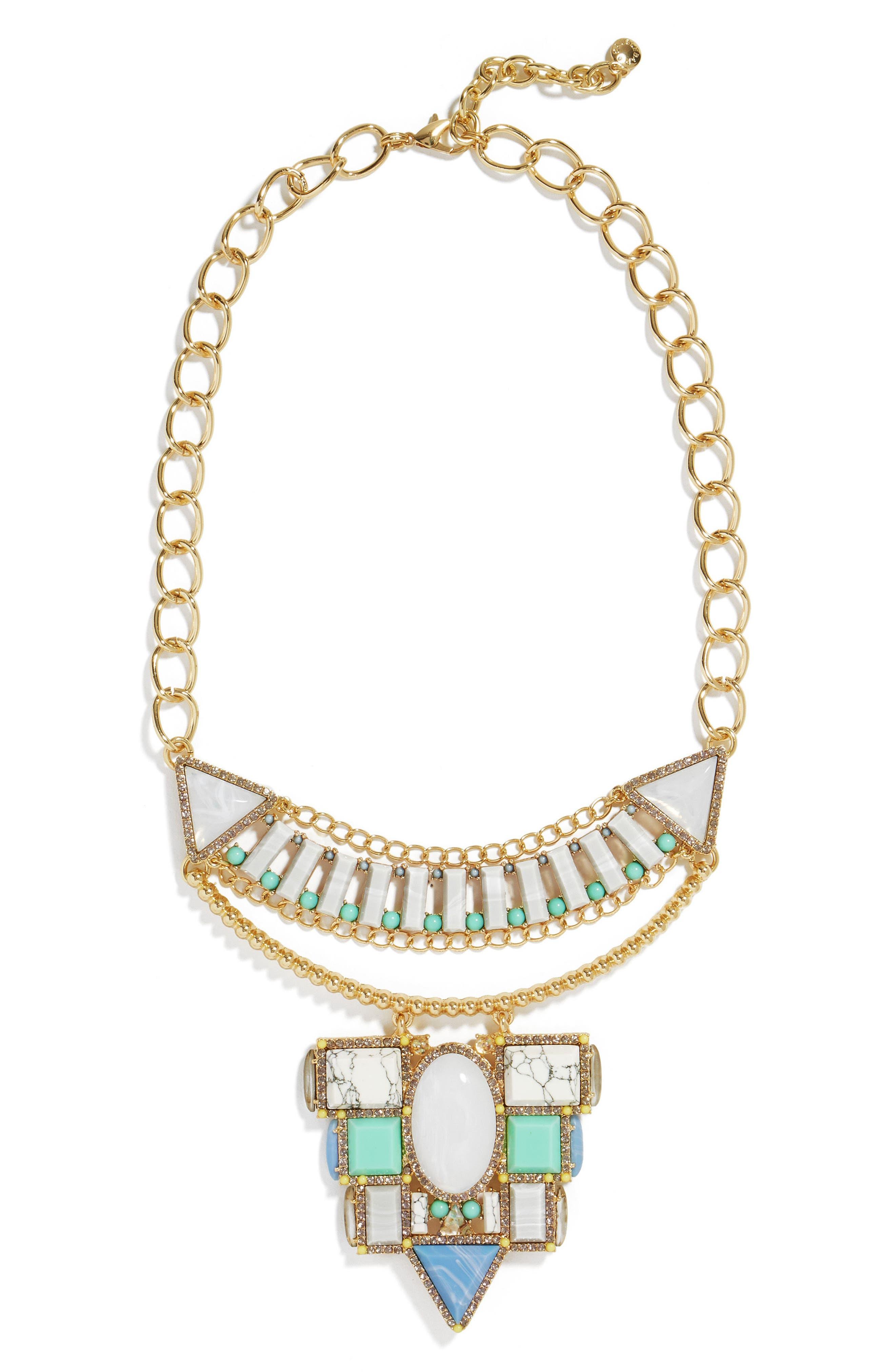 Marquessa Statement Necklace,                         Main,                         color, 020