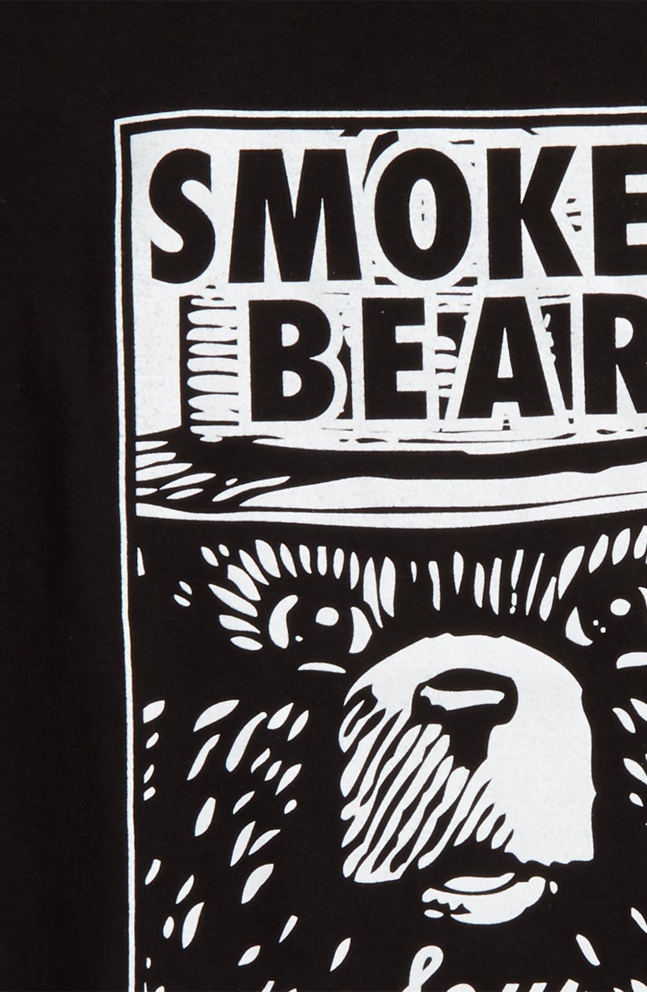 Smokey Says Graphic T-Shirt,                             Alternate thumbnail 2, color,                             001