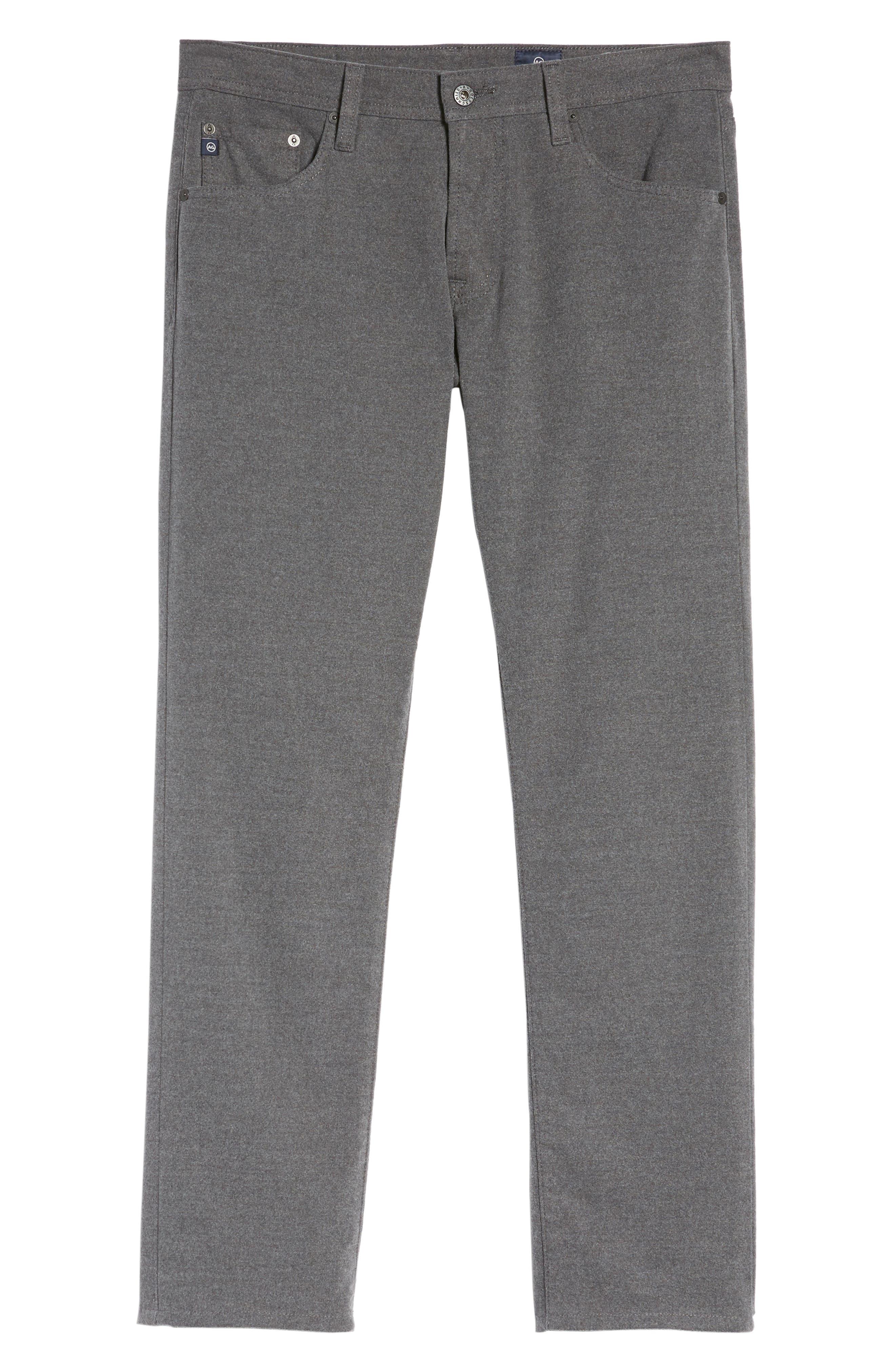 Marshall Slim Fit Pinstripe Pants,                             Alternate thumbnail 6, color,                             028
