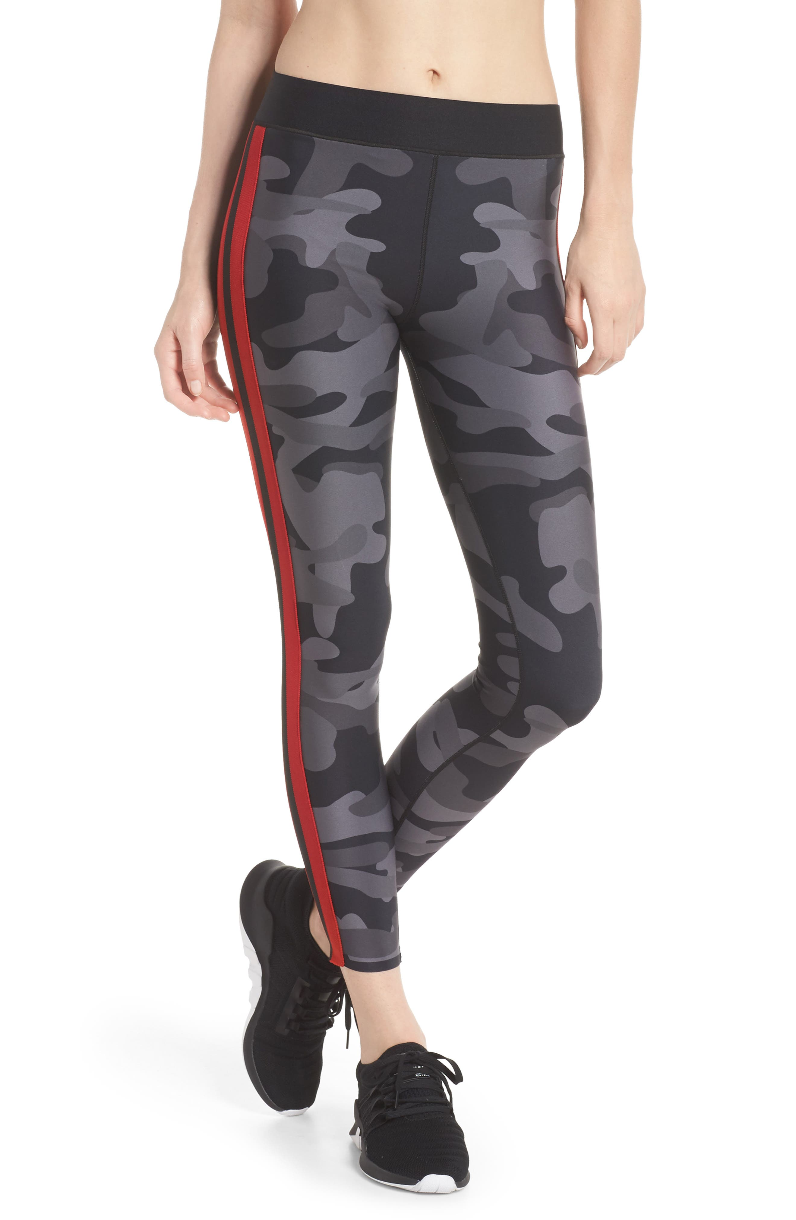 Ultra Camo Collegiate Leggings,                             Main thumbnail 1, color,                             005