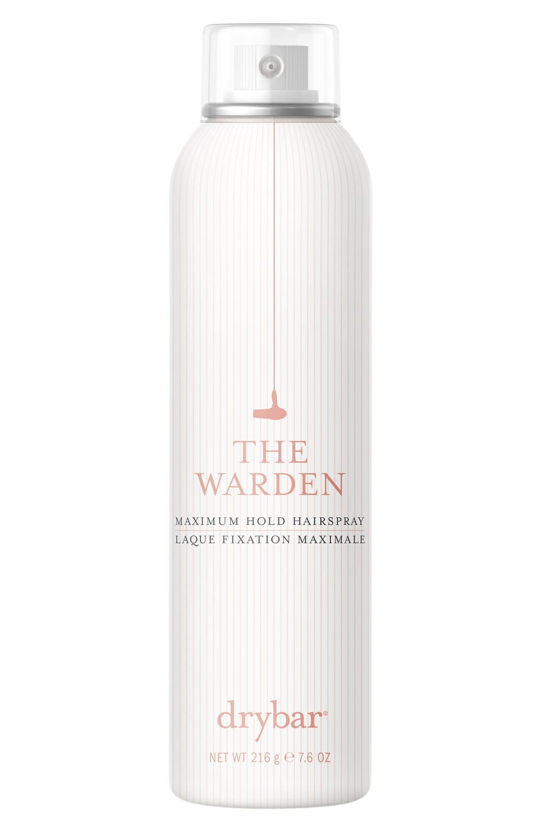 'The Warden' Maximum Hold Hairspray,                             Main thumbnail 1, color,                             NO COLOR