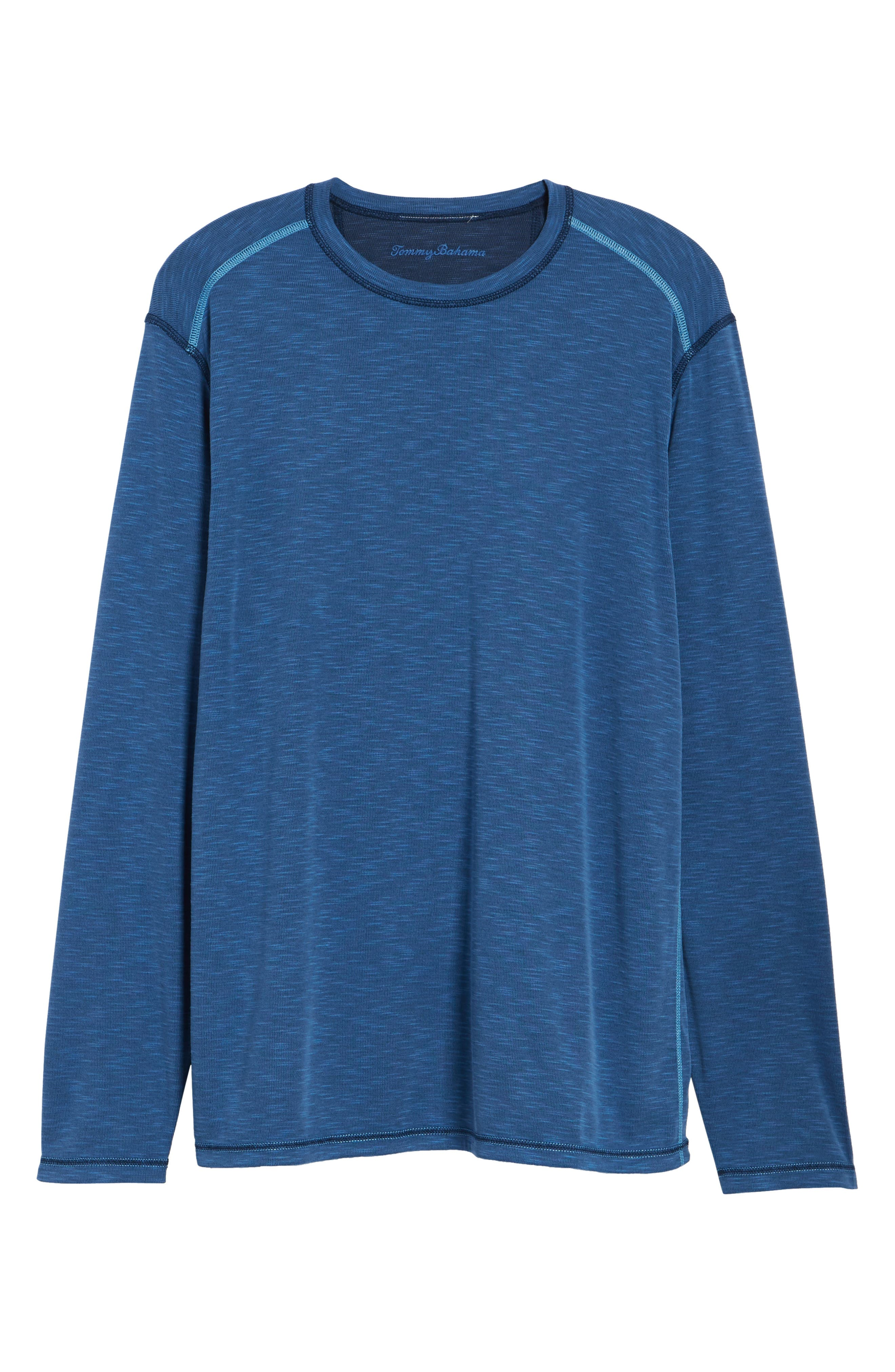 Flip Tide Standard Fit T-Shirt,                             Alternate thumbnail 7, color,                             GALAXY BLUE