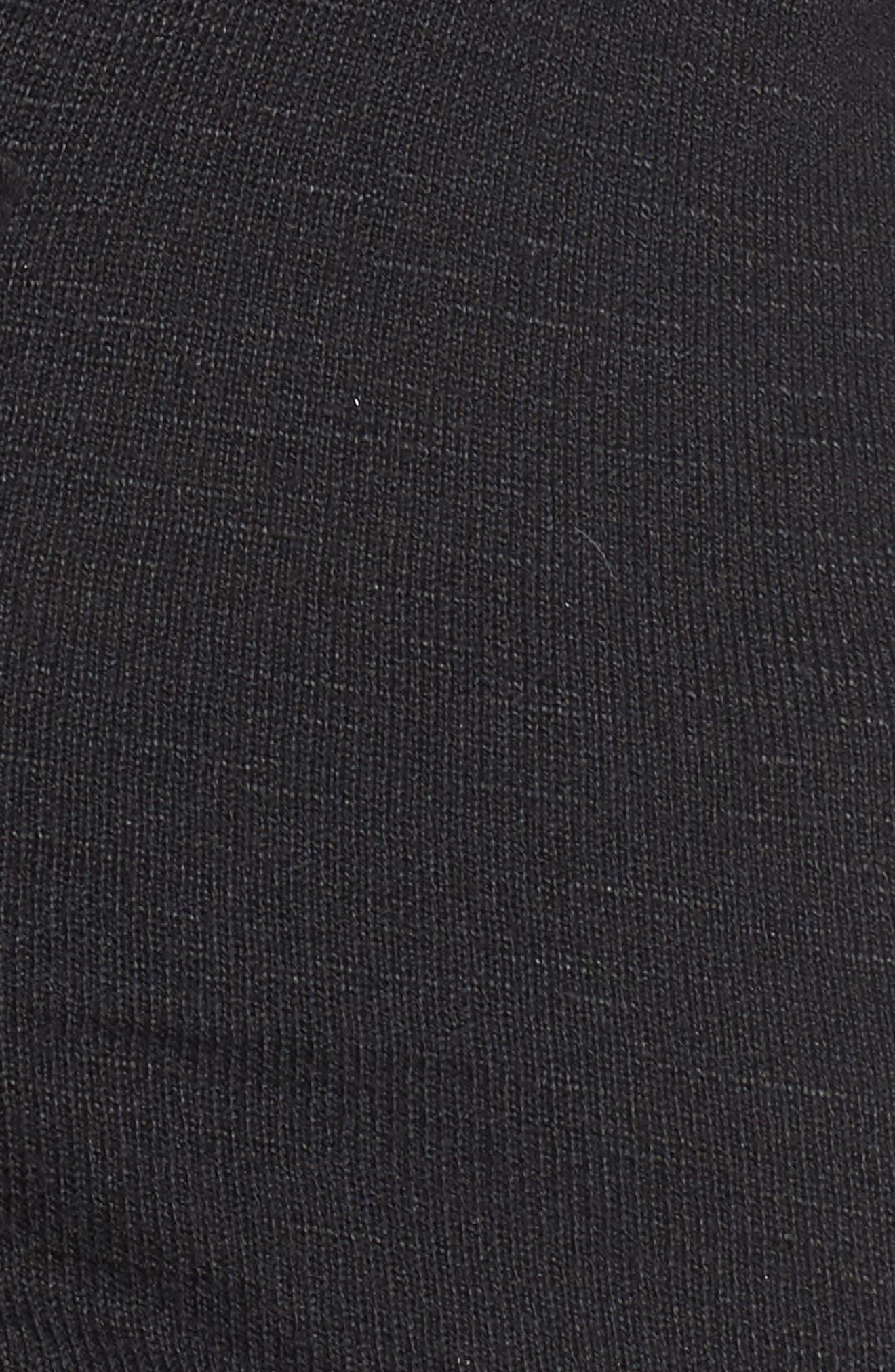 Hatchi Corset Tee,                             Alternate thumbnail 5, color,                             001
